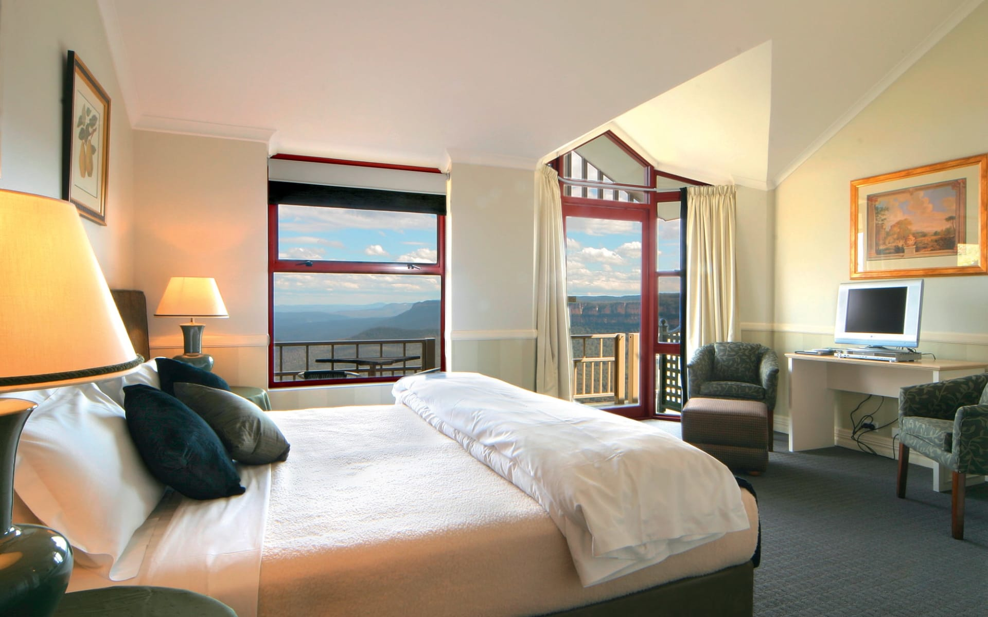 Echoes Boutique Hotel in Blue Mountains:  Echoes Boutique Hotel - Deluxe View Room