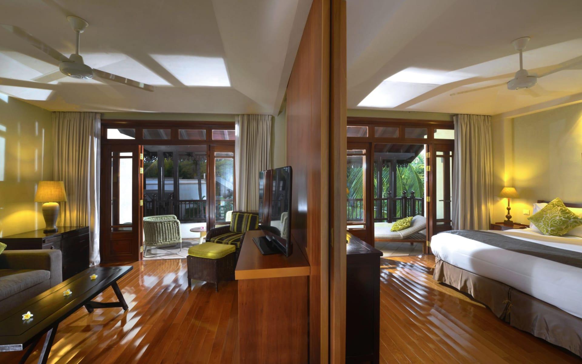 Sofitel Mauritius L'Imperial Resort & Spa in Wolmar, Flic en Flac:  Family Suite Garden View