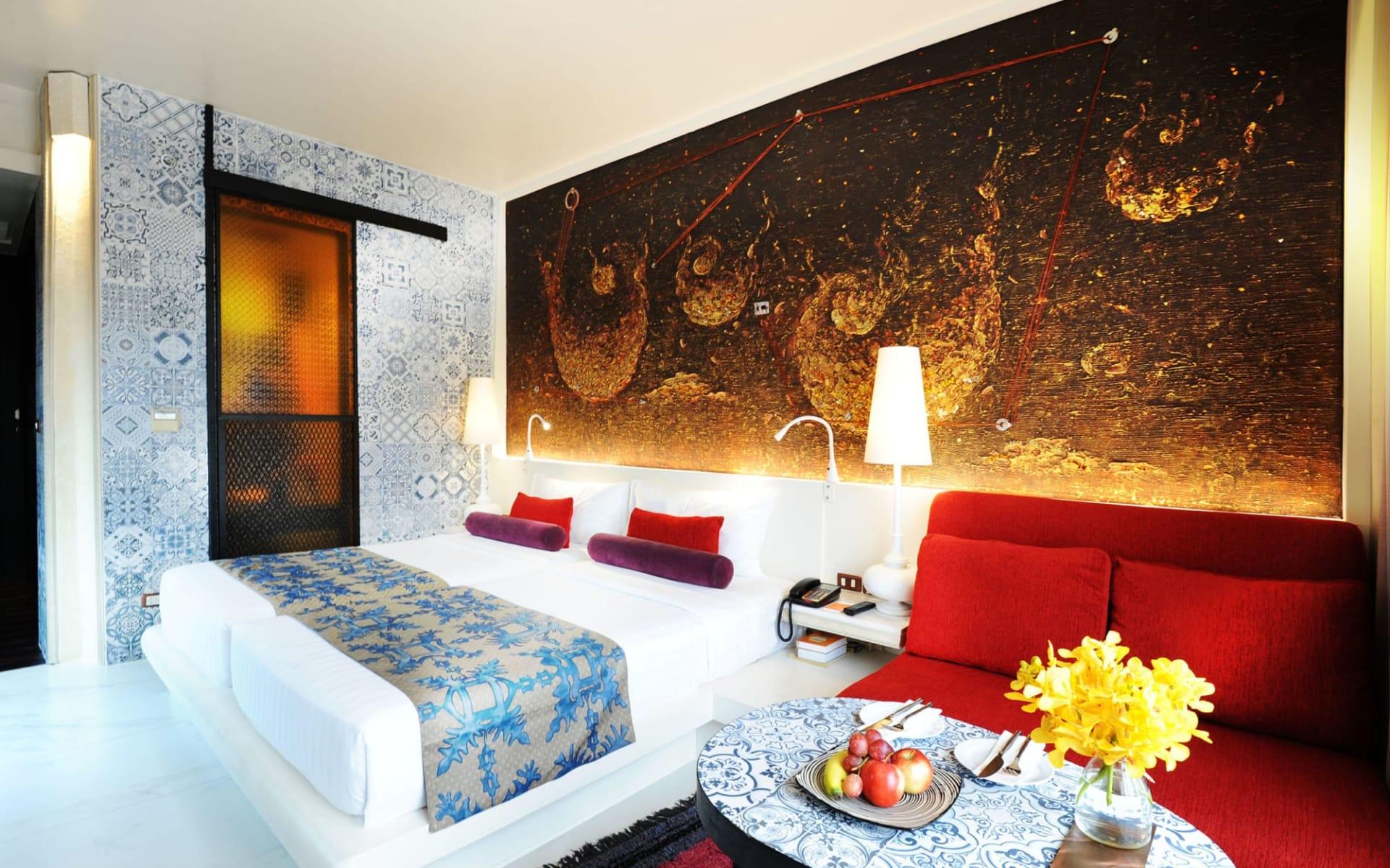 Siam@Siam in Bangkok: Grand Deluxe | Bedroom