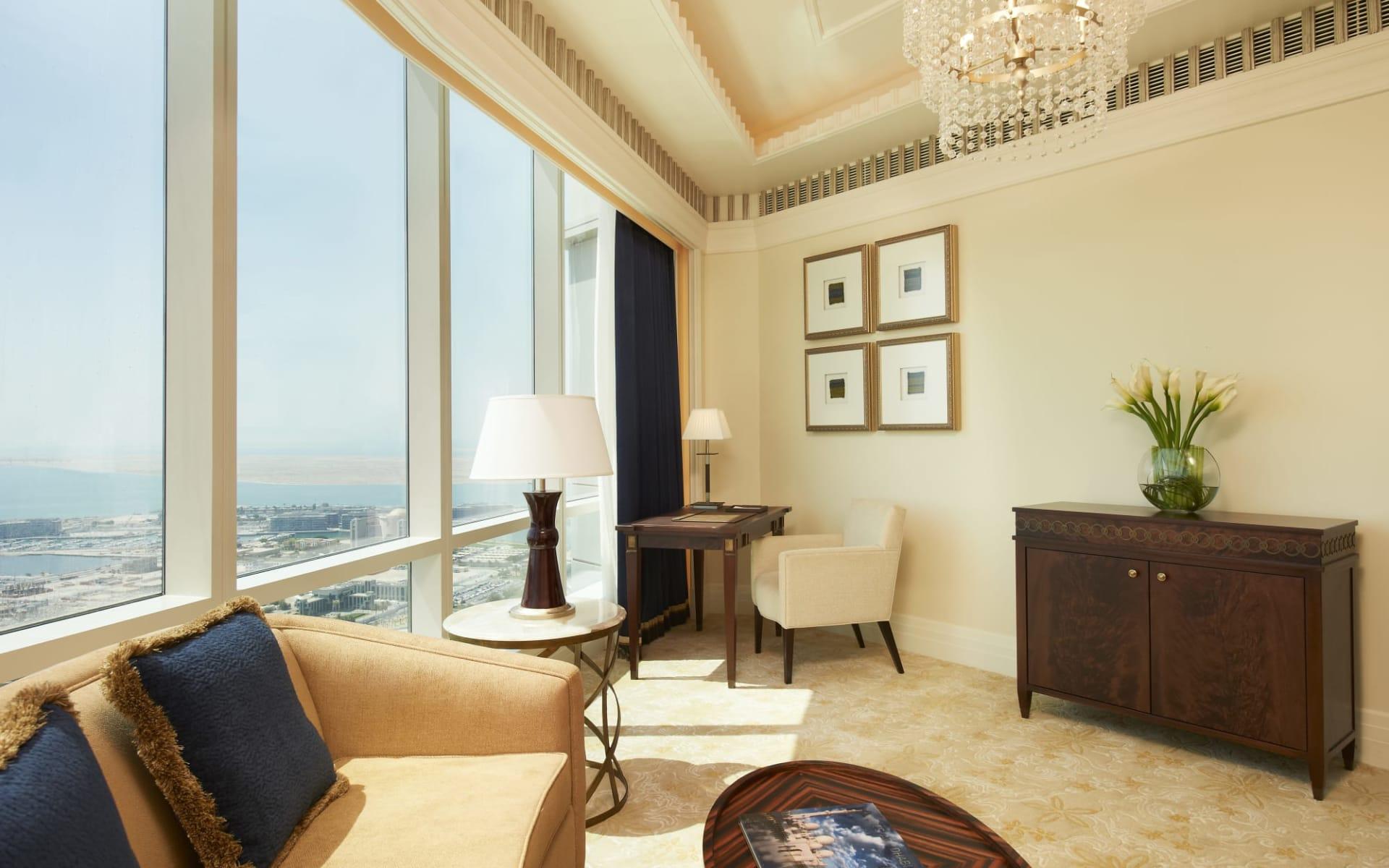 The St. Regis Abu Dhabi:  Junior Suite