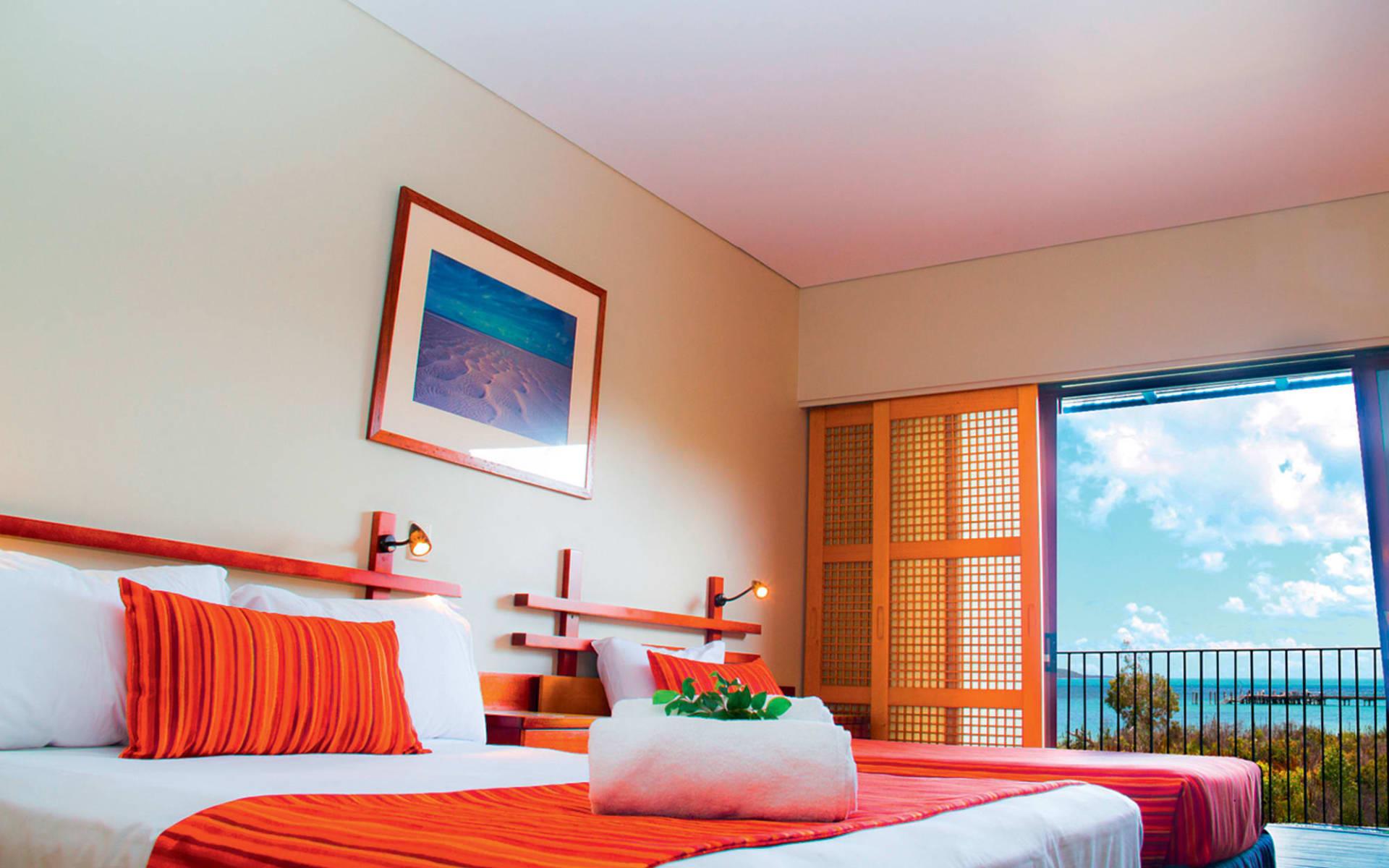 Kingfisher Bay Resort in Fraser Island:  Kingfisher Bay Resort - Bay View Room