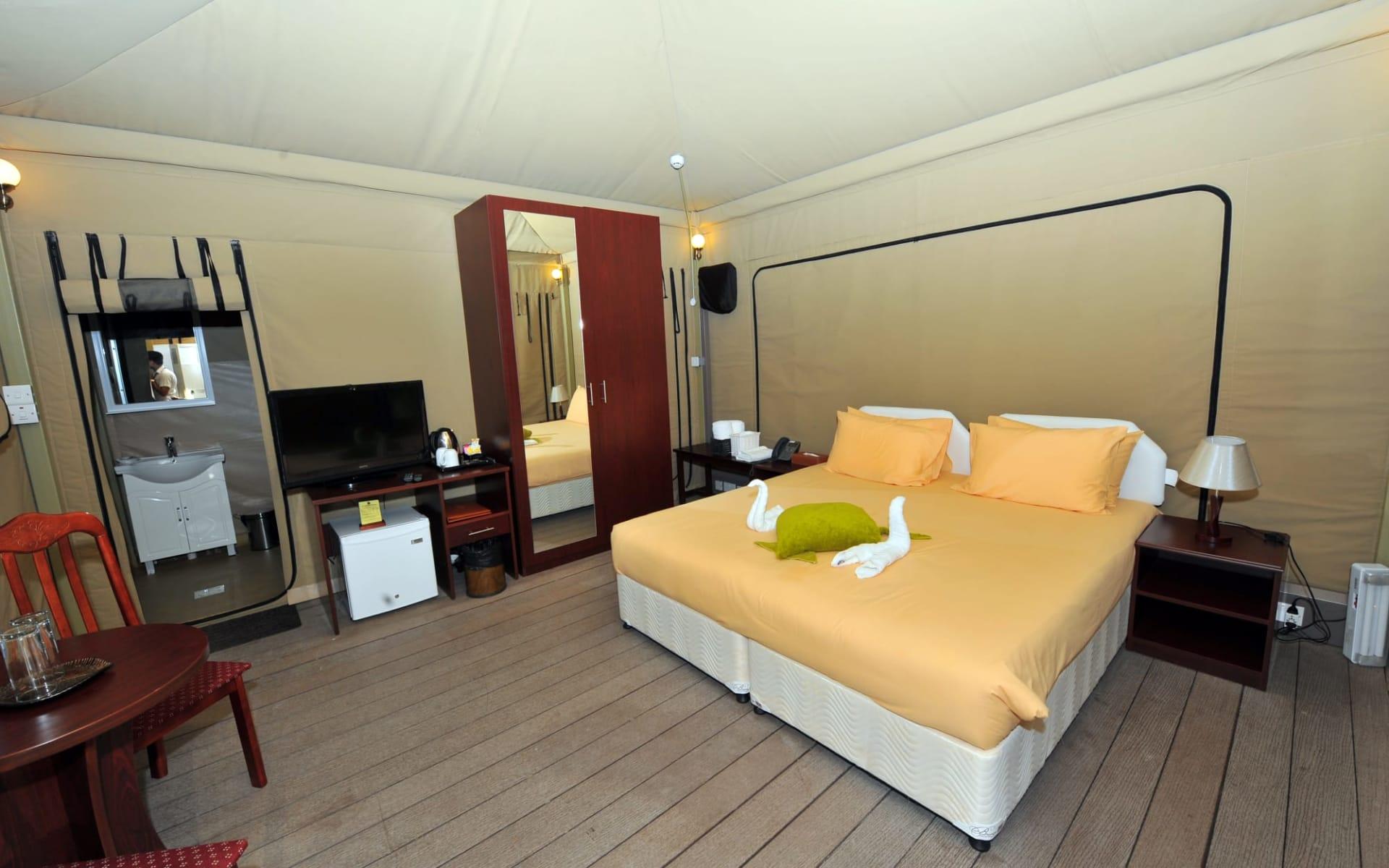 Ras al Jinz Scientific & Visitor Center in Sur: Luxury Eco-Tents
