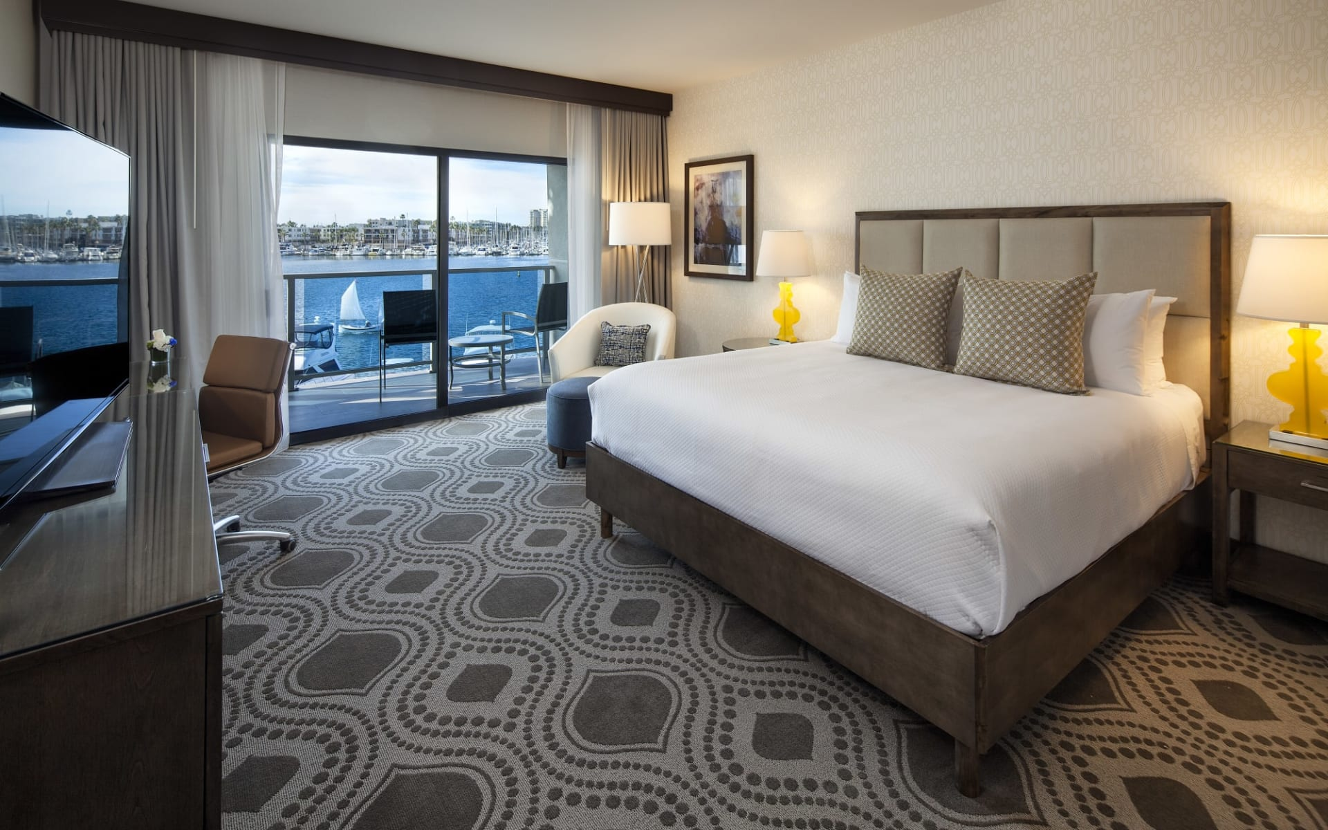 Marina del Rey Hotel:  Marina del Rey Hotel - Marina View