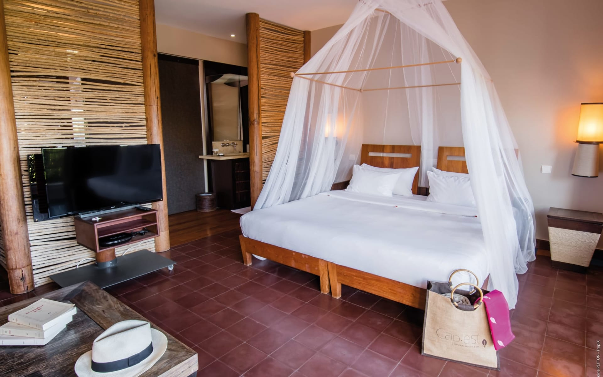 Le Cap Est Lagoon Resort & Spa in La Prairie:  Martinique_Le Cap Est LAgoon Resort & Spa_Room