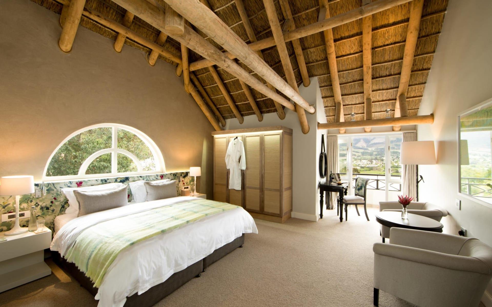 Mont Rochelle Hotel & Vineyard in Franschhoek:  Merlot Room