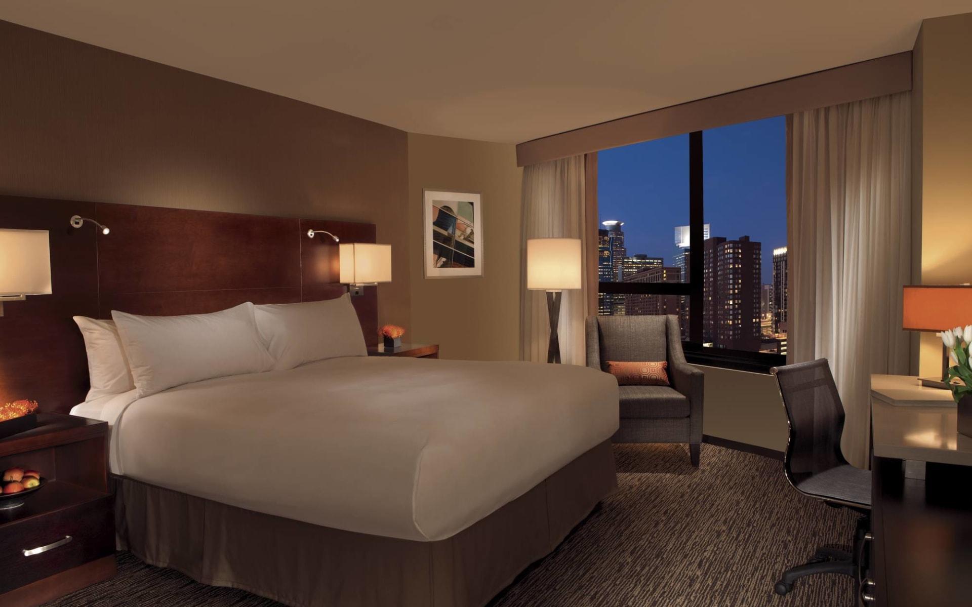 Millenium Hotel in Minneapolis: Millenium Hotel - Doppelzimmer