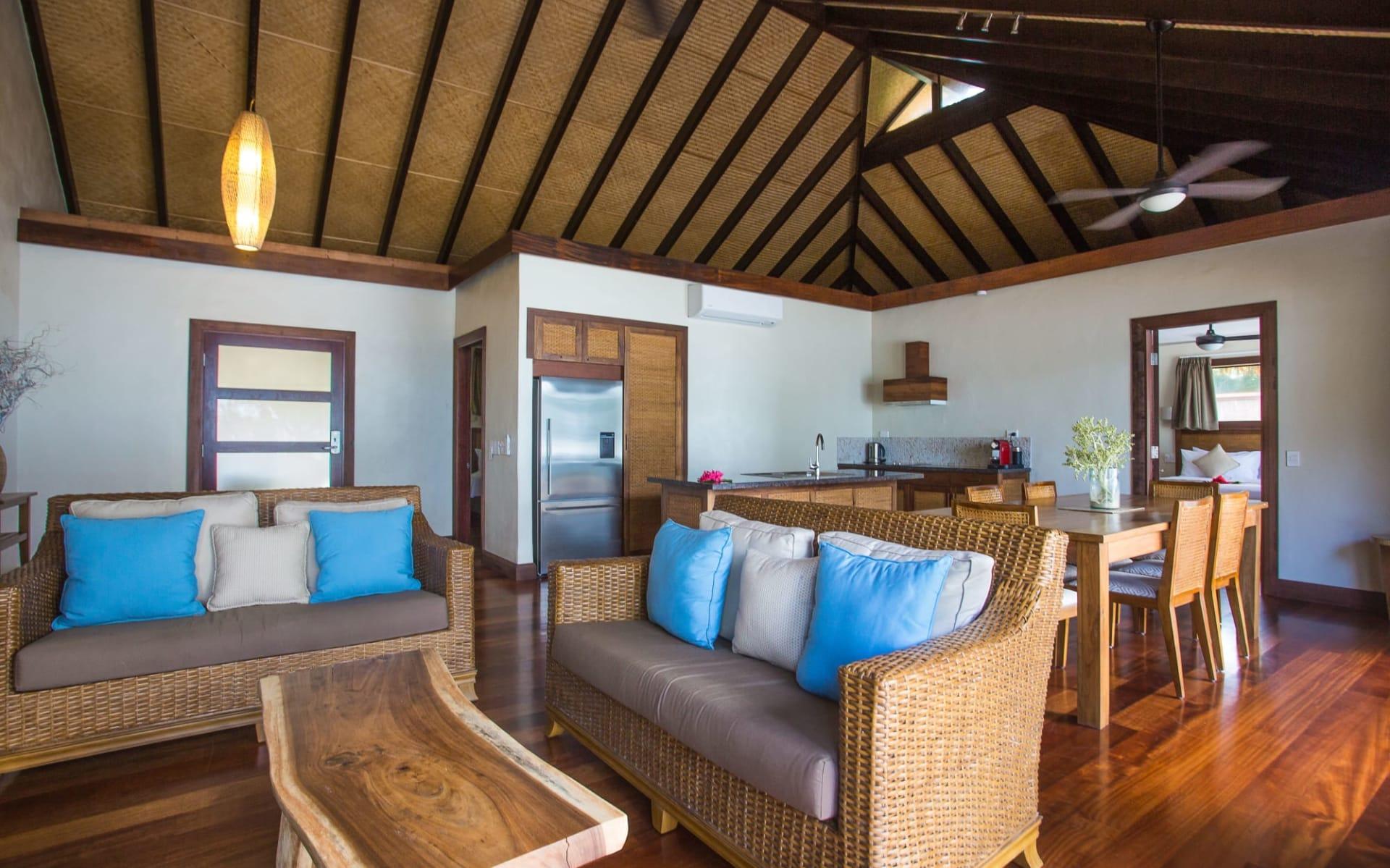 Nautilus Resort in Rarotonga: Nautilus-Resort-2-Bedroom-Are-Living-Area