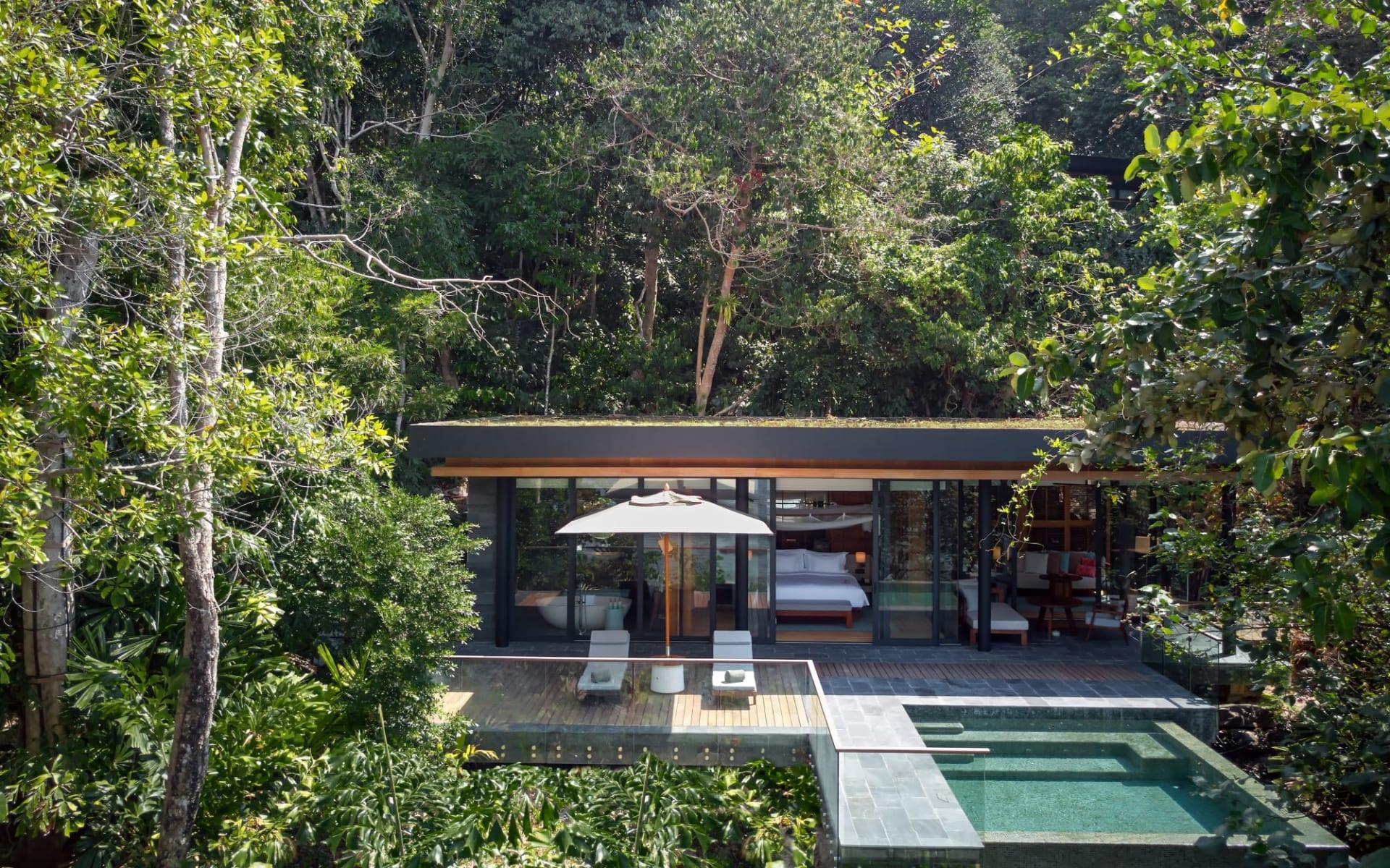 Six Senses Krabey Island in Sihanoukville & Inseln: Ocean Front Pool Villa Suite