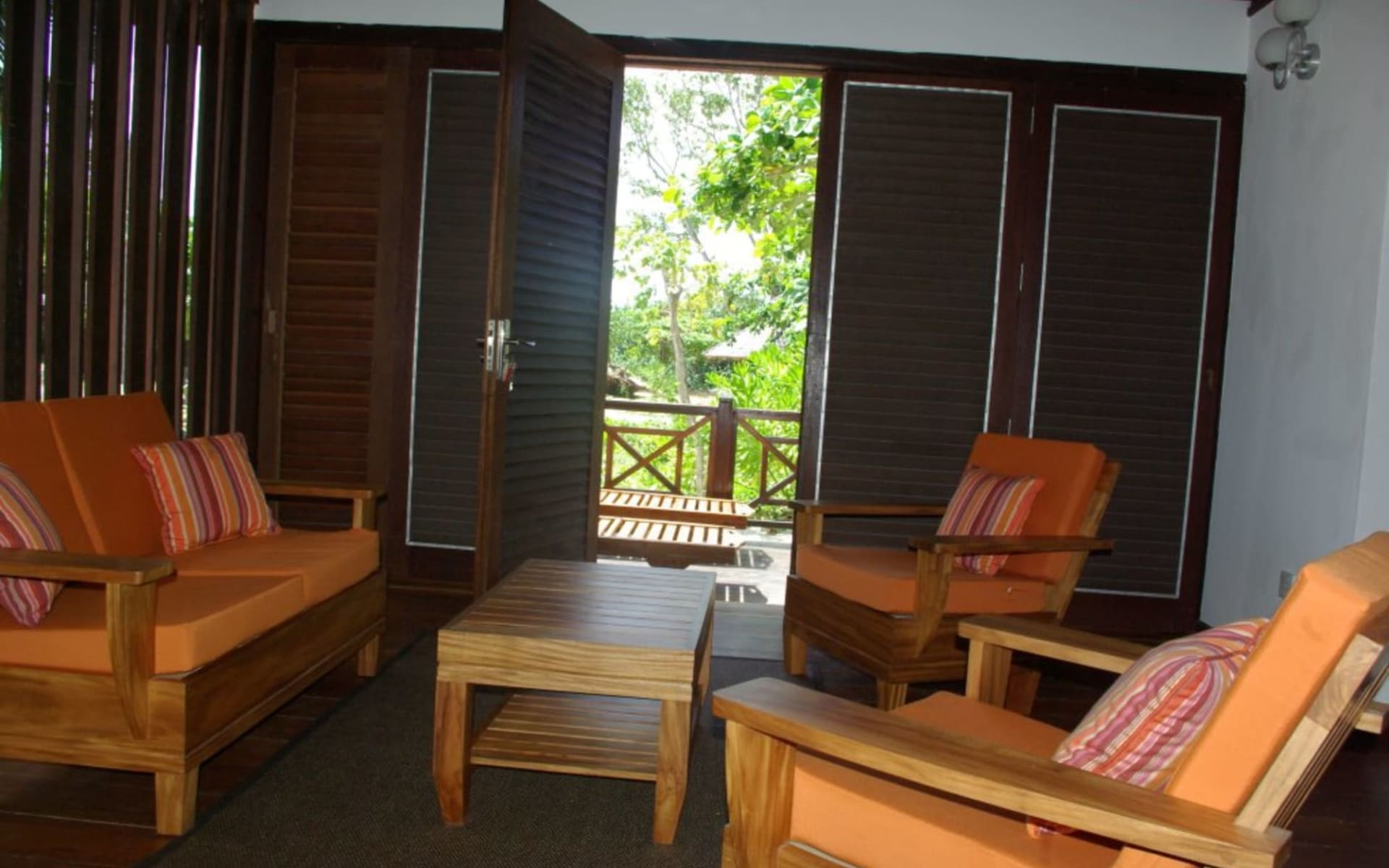 Heliconia Grove in Praslin:  One Bedroom Villa