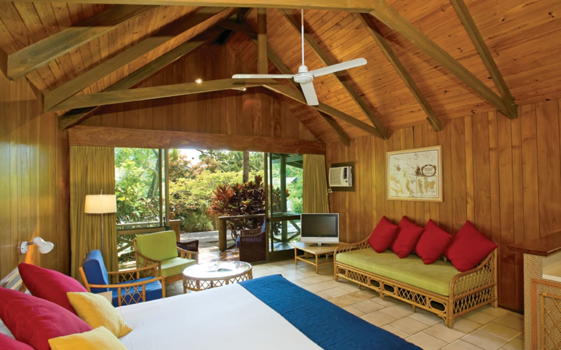 Palm Bungalows in Hamilton Island:  Palm Bungalows Interior