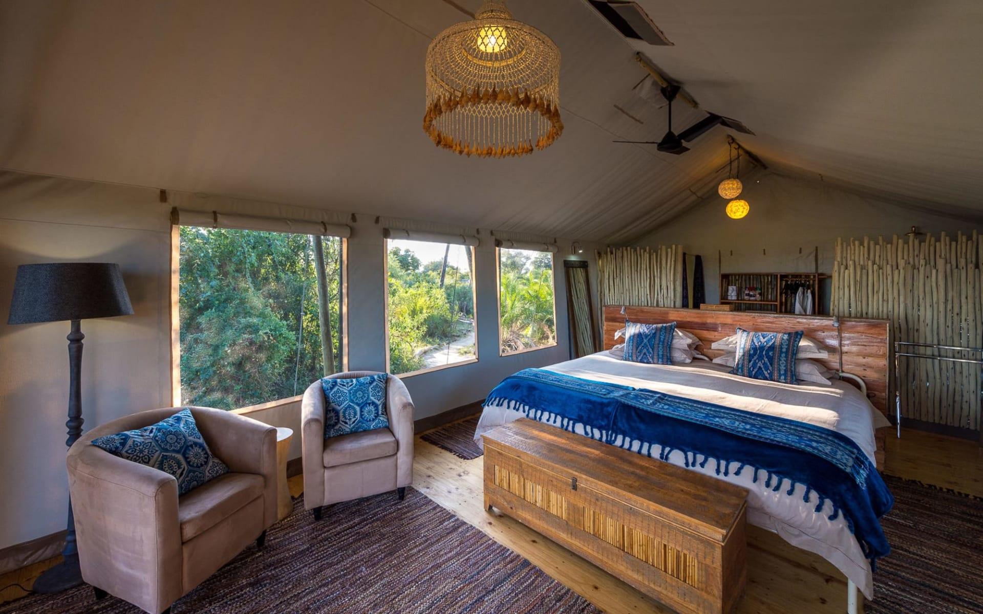Pelo Camp in Okavango Delta:  Pelo Camp-room