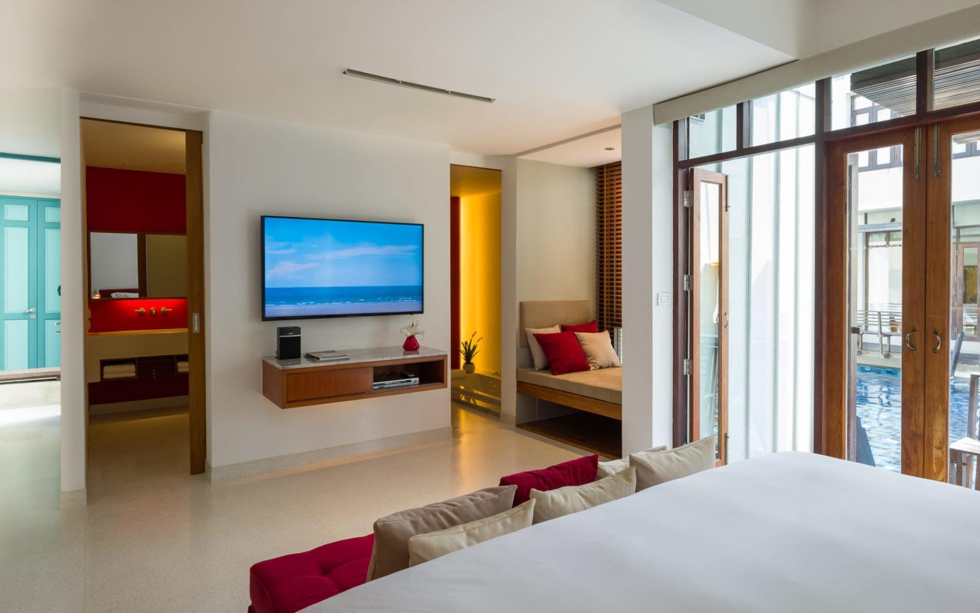 Let's Sea Hua Hin Al Fresco Resort: Pool Access Jacucci Suite   Pool Access Jacucci Suite Z-Luxe Club