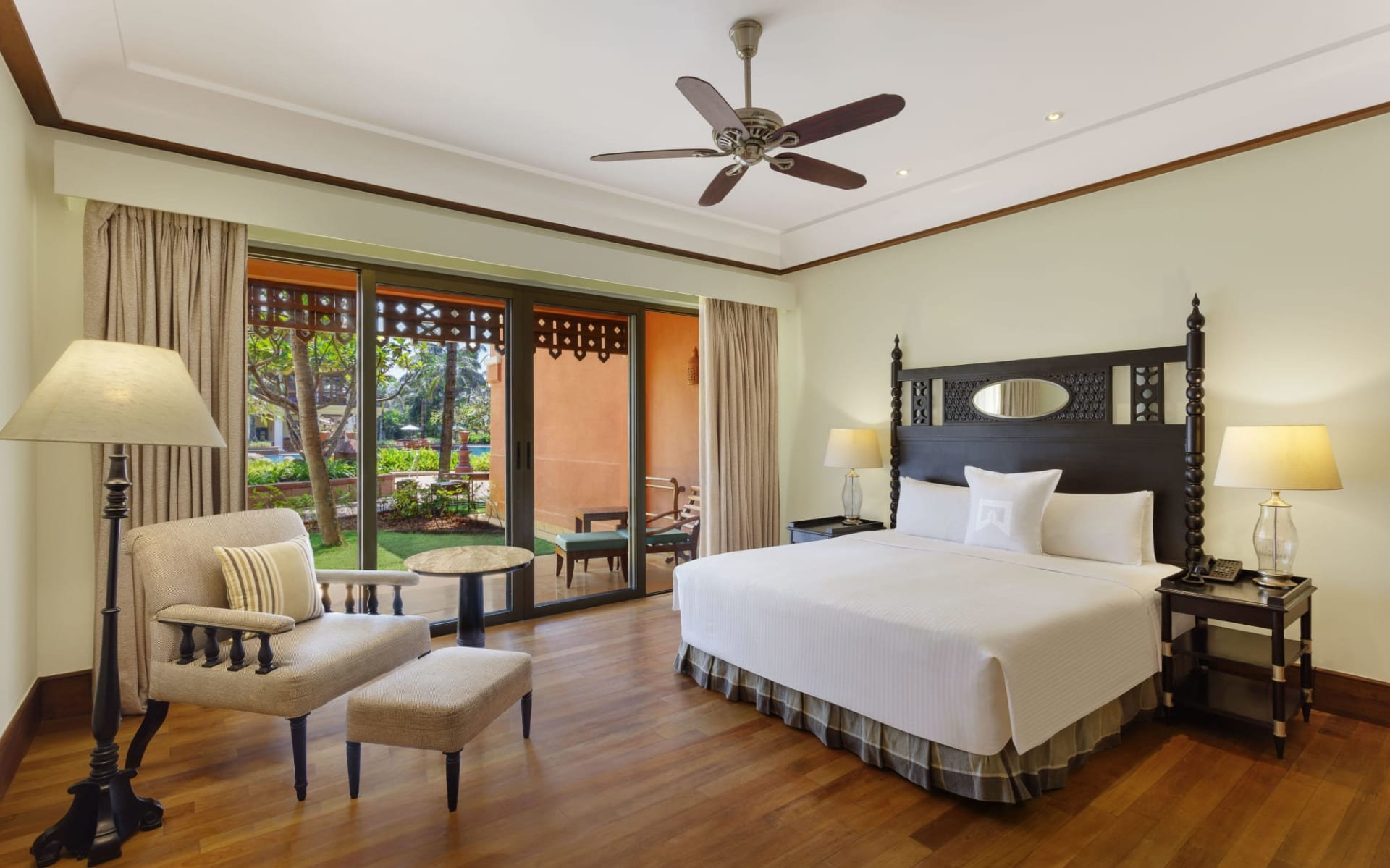 ITC Grand Goa Resort & Spa: Pool View
