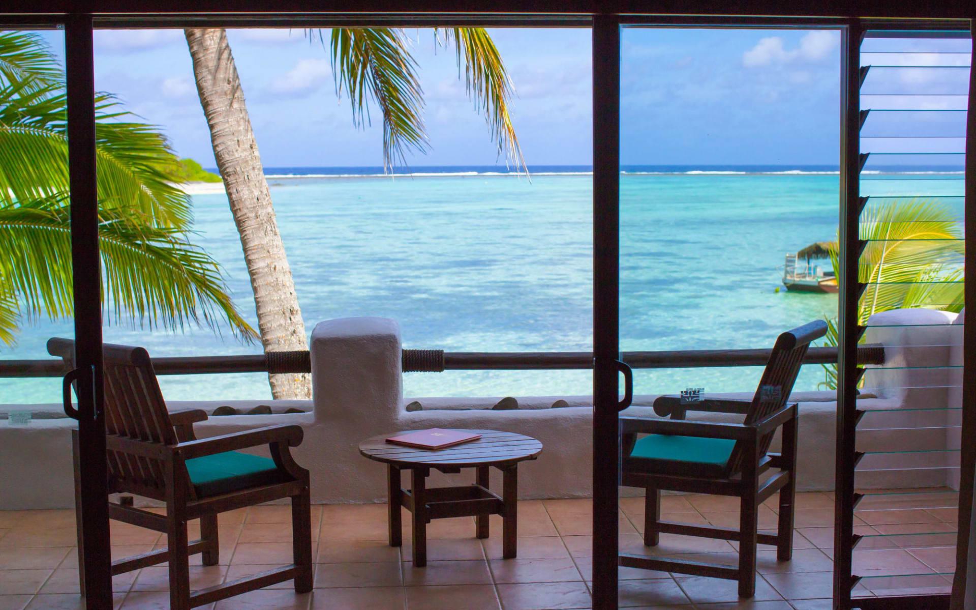Pacific Resort Rarotonga: PRR-Beachfront-Suite-Balcony-view