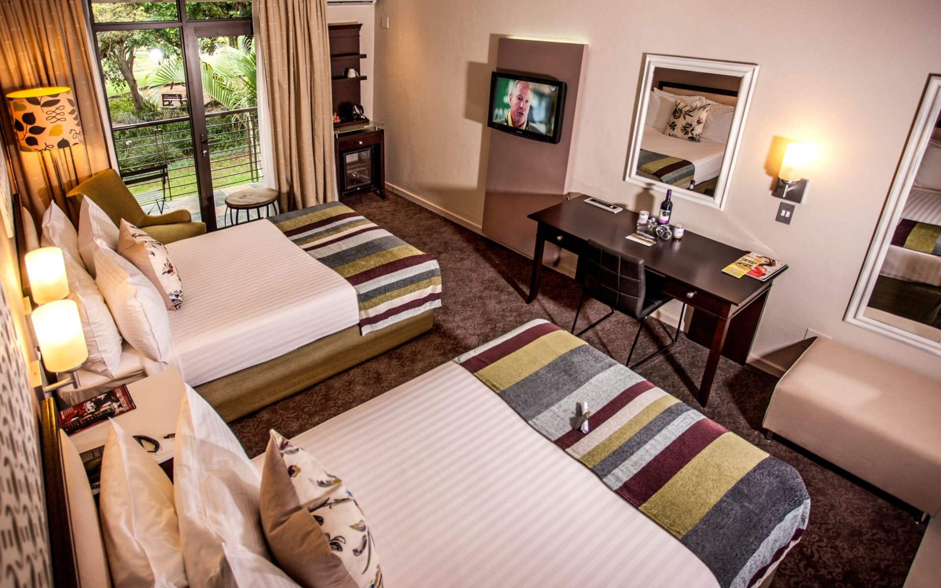 Sabi River Sun Resort in Hazyview:  Sabi River Sun Resort - Hotelzimmer