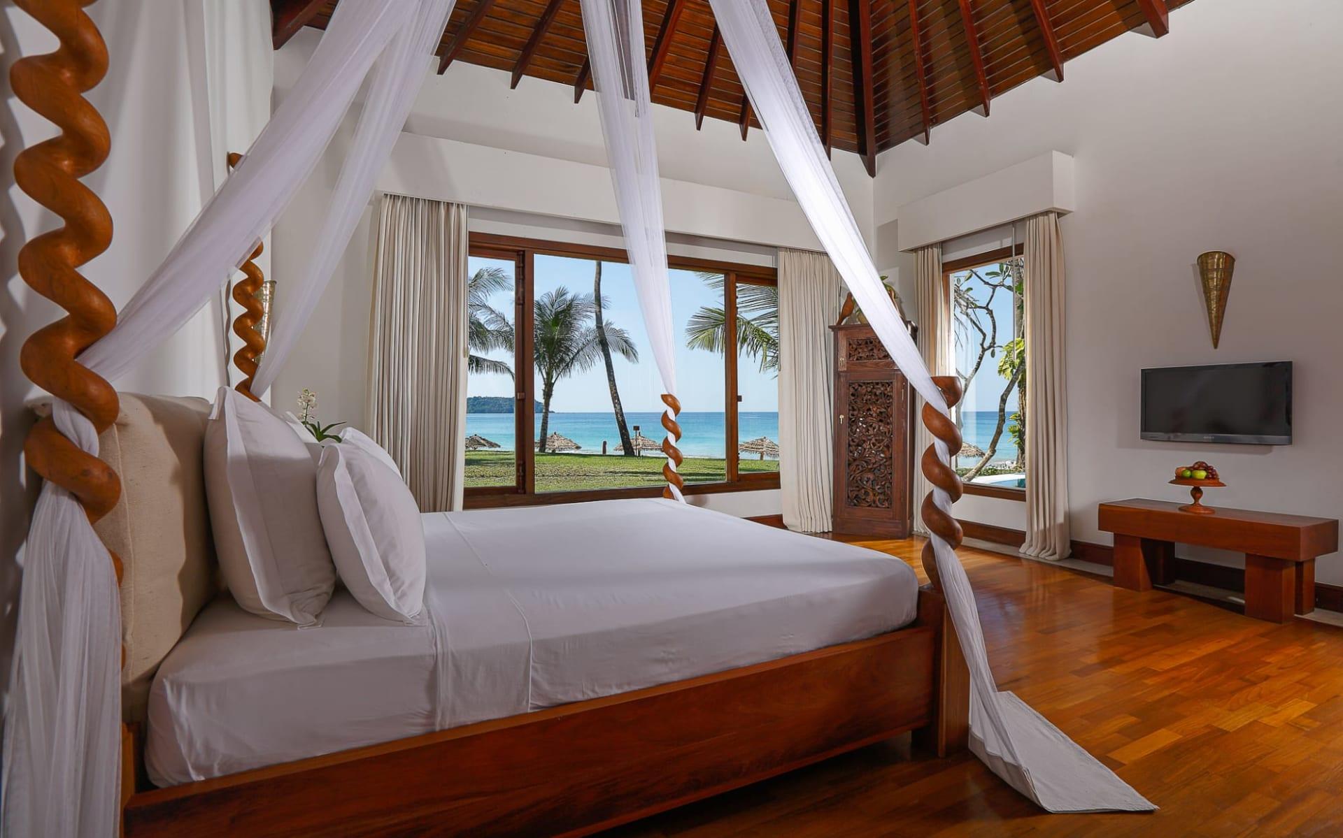 Ngapali Bay Villas & Spa: Sea Front Villa with Plunge Pool