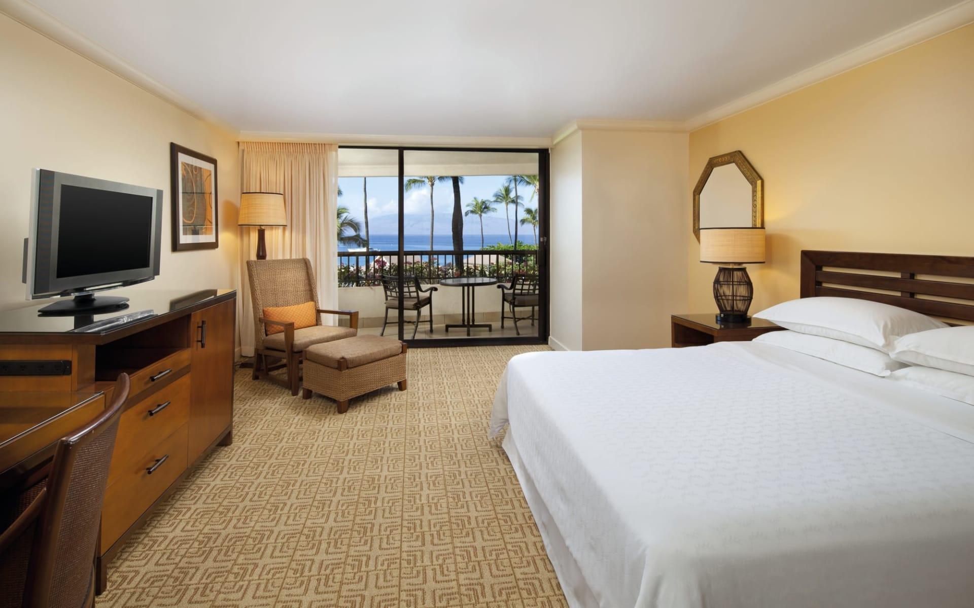 Sheraton Maui Resort in Lahaina - Maui:  Sheraton Maui - Ocean View Zimmer