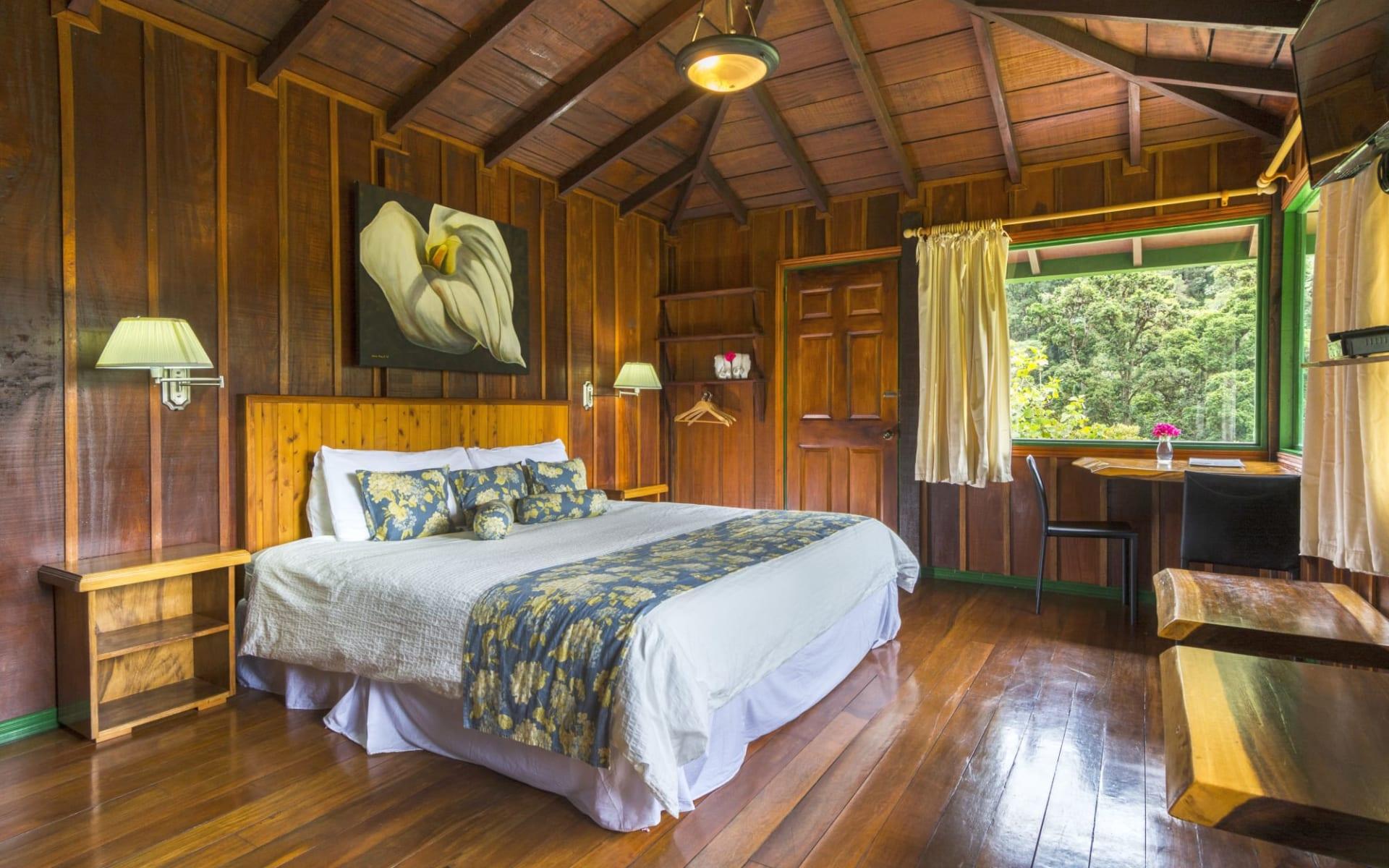 Trogon Lodge in San Gerardo de Dota:  Trogon Lodge Superior Room