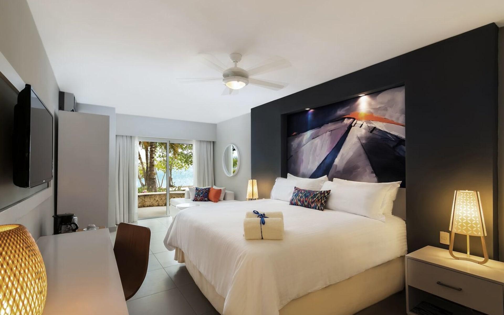Emotions in Santo Domingo:  Zimmer Hotel Emotions Juan Dolio - Club Essentia Ocean View Room