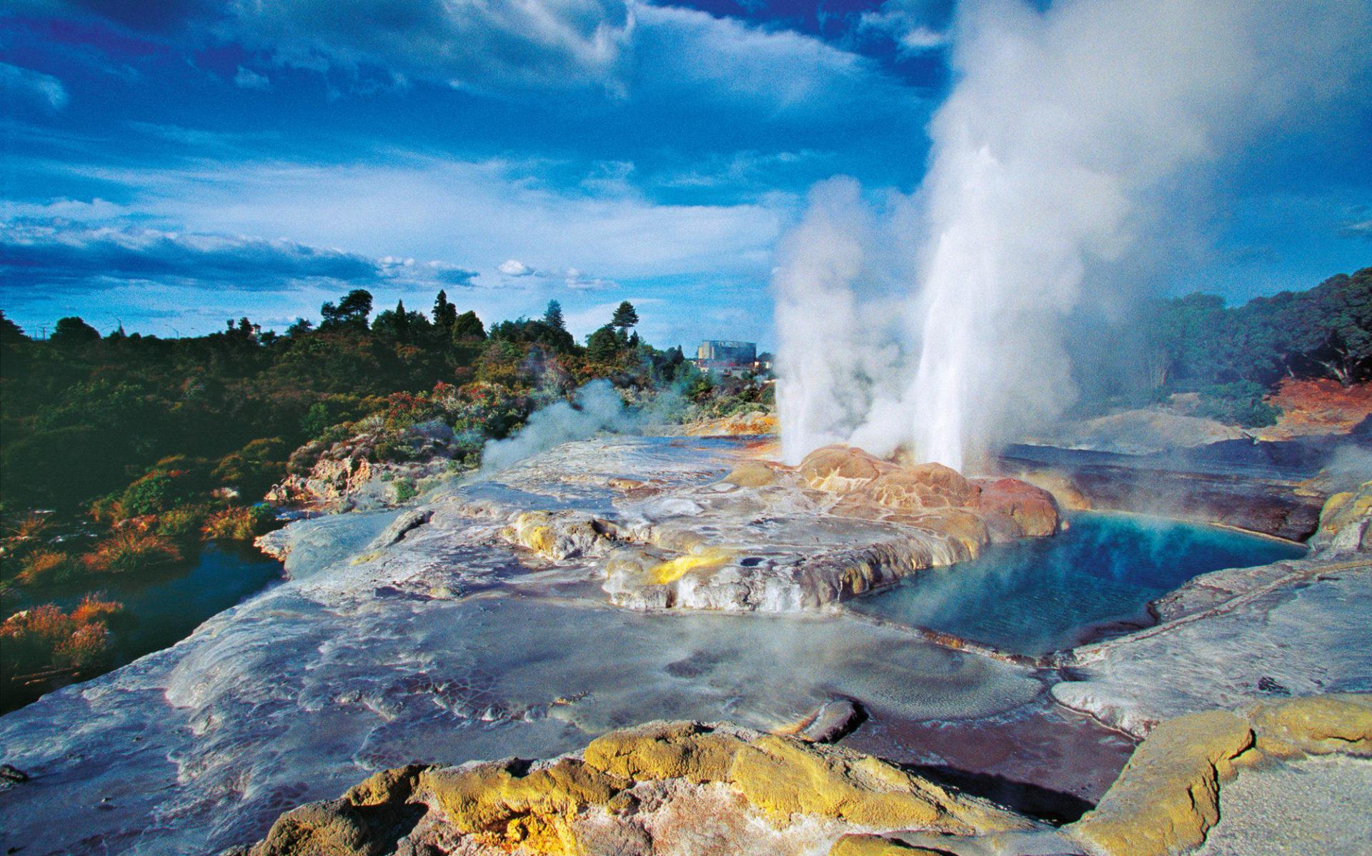 Neuseeland entdecken (Wellington - Auckland) (AAT Kings): Rotorua - Geysers - AAT_TNZ