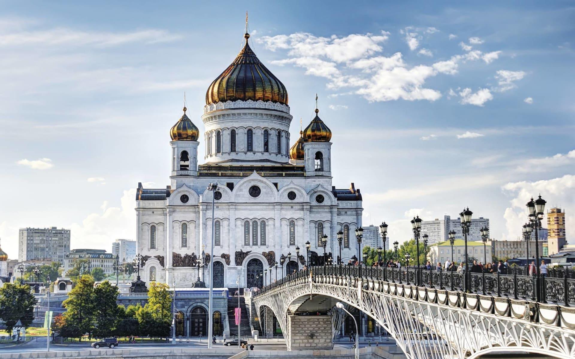 Russische Kontraste - Moskau und St.Petersburg: Russische Kontraste_