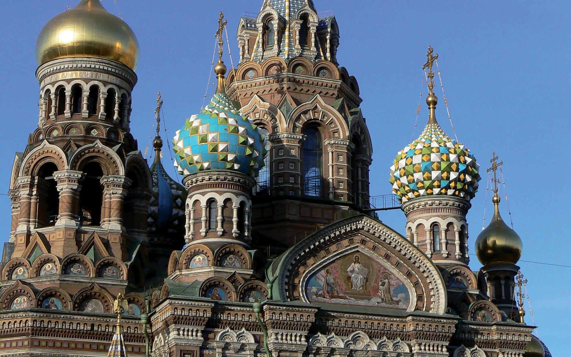 Russische Kontraste - Moskau und St.Petersburg: Russische Kontraste_Auferstehungskirche (4)