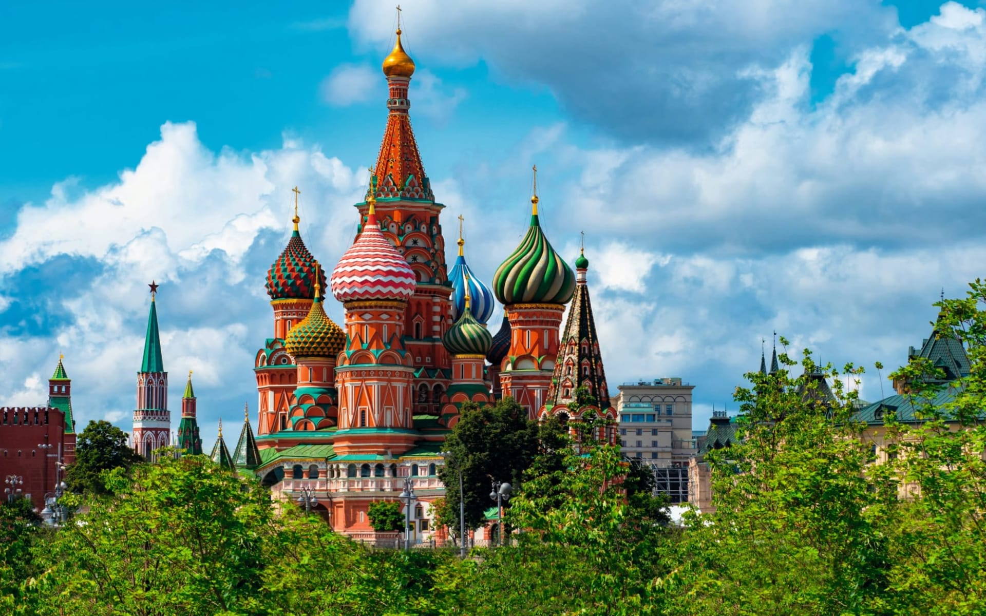 Sonderzug Zarengold Wladiwostok - Moskau: Russlan_Moskau_BasiliusKathedrale_