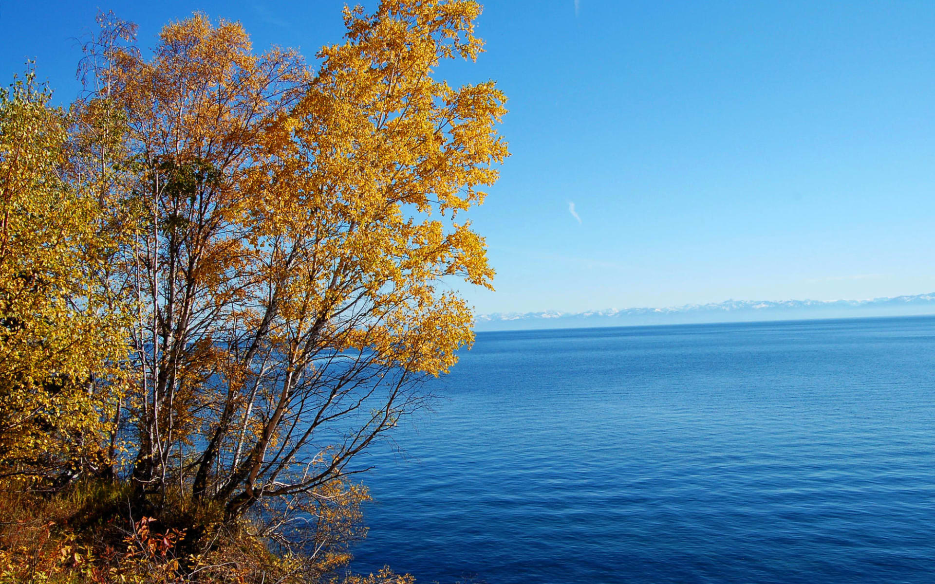 Irkutsk und der Baikalsee: Russland - Baikalsee - Herbst