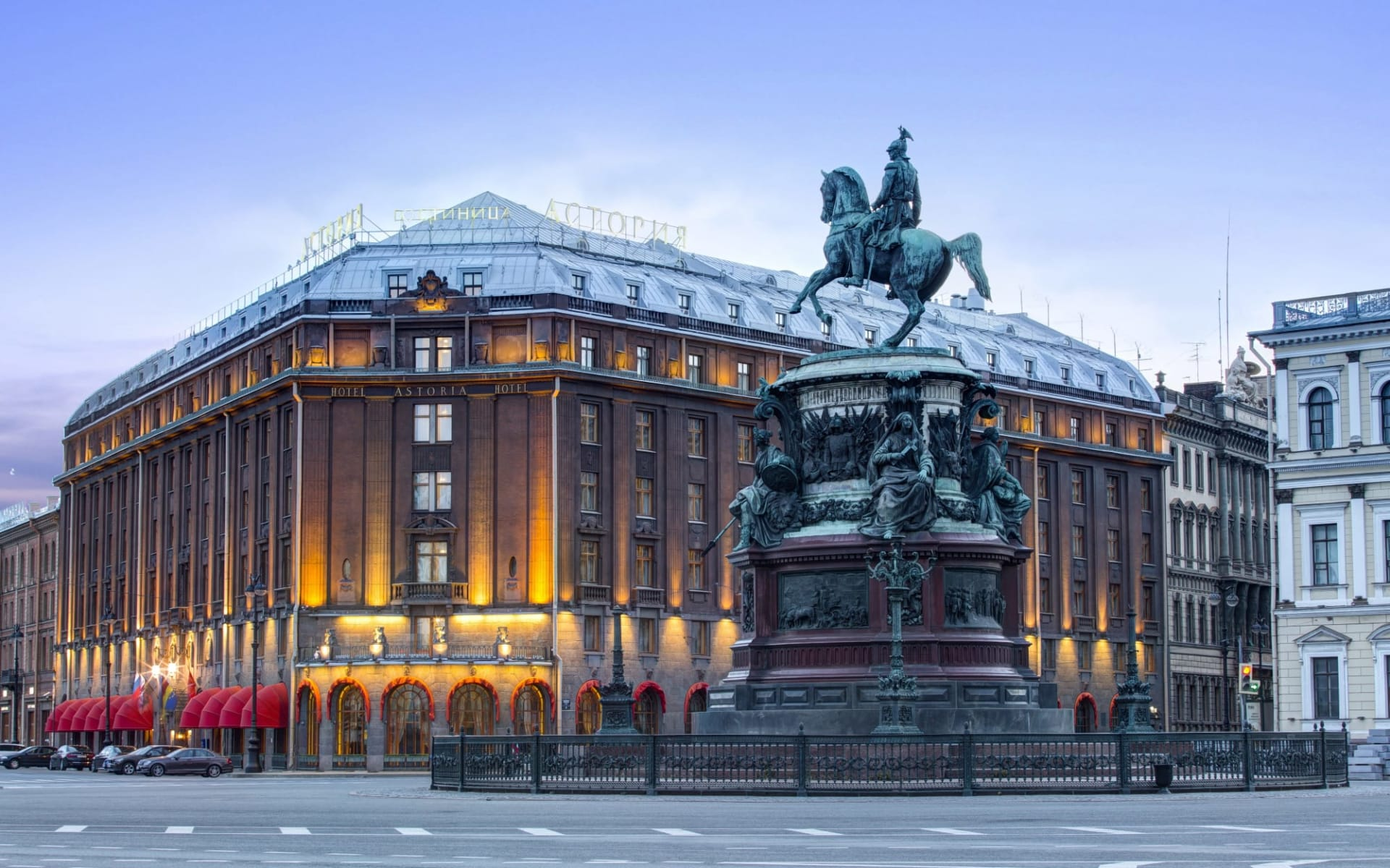 Hotel Astoria in St. Petersburg: Russland_St.Petersburg_Astoria_Aussen