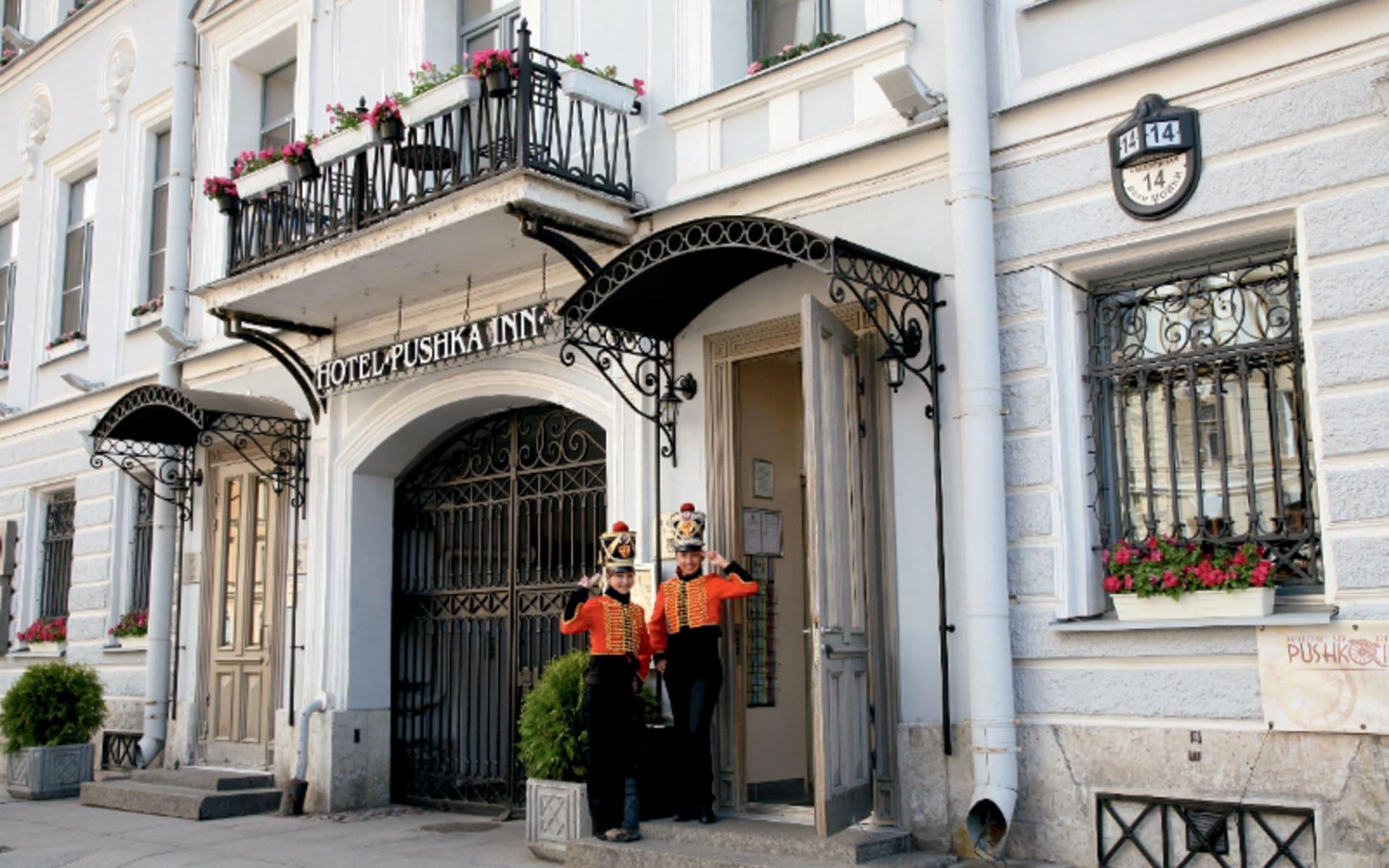Hotel Pushka Inn in St. Petersburg: Russland_St.Petersburg_PushkaInn_Fassade