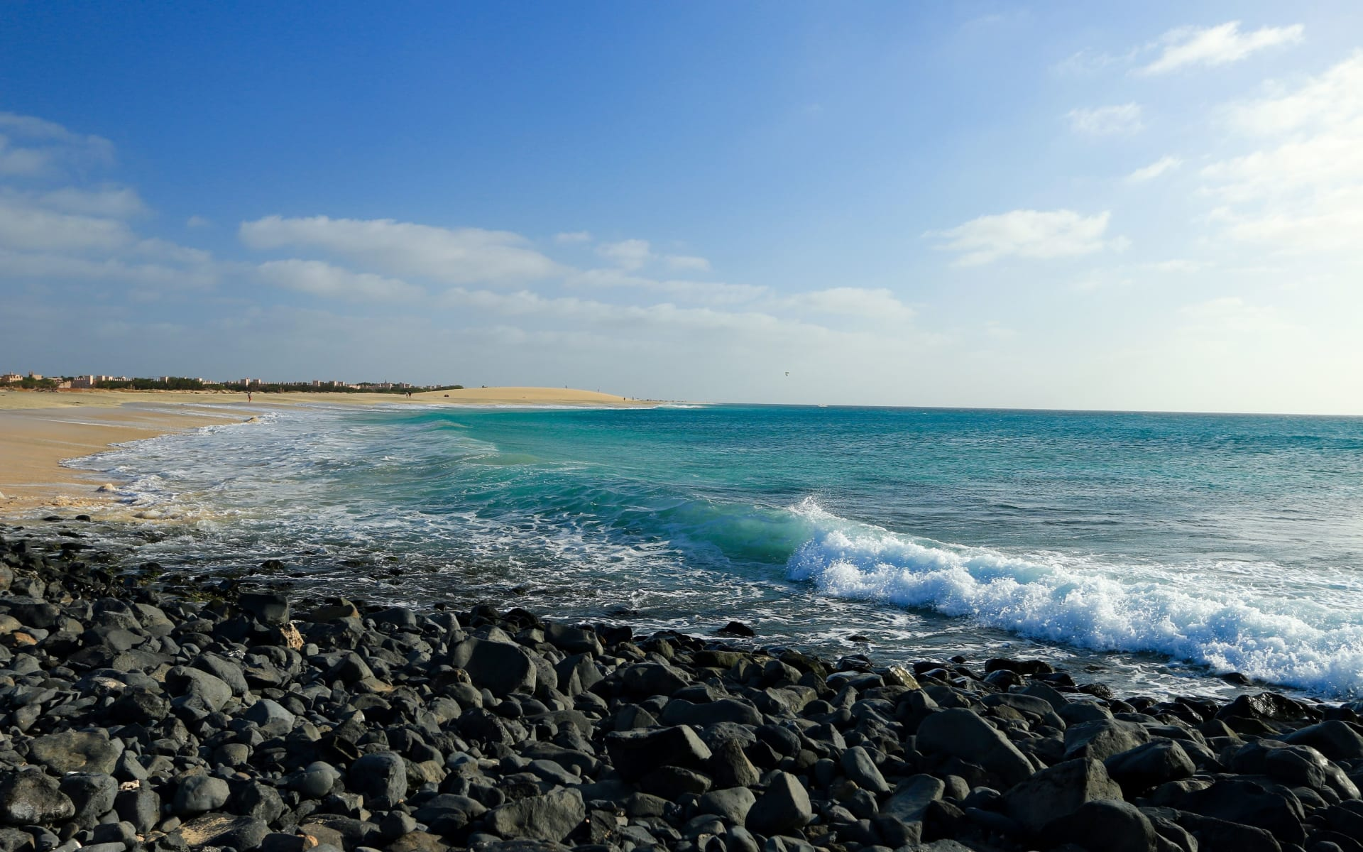 Badeferien im Odjo d'Agua ab Santa Maria: Santa Maria_Beach_
