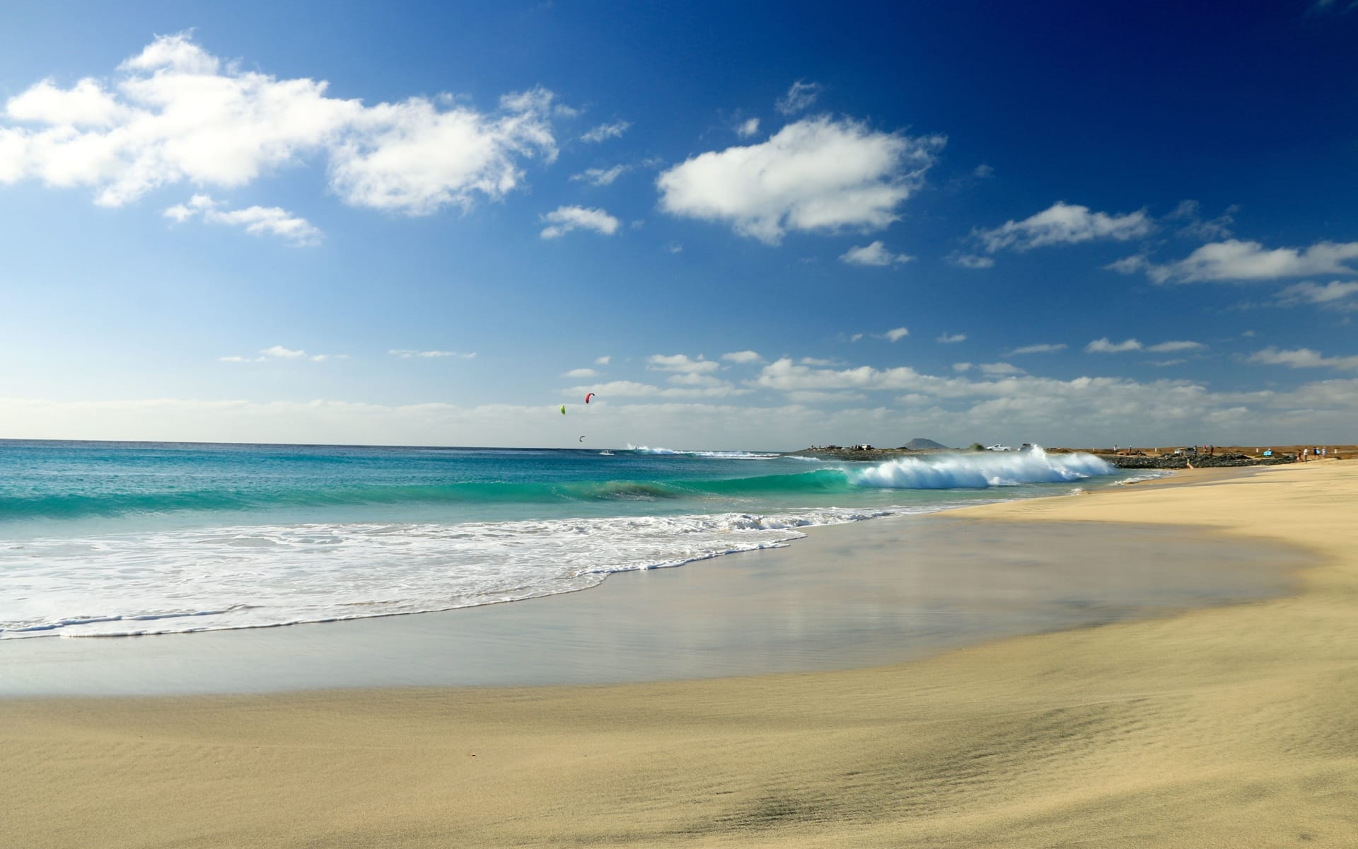 Badeferien im Melia Dunas Beach Resort & Spa ab Santa Maria: Santa Maria _Boa_Vista_Strand_