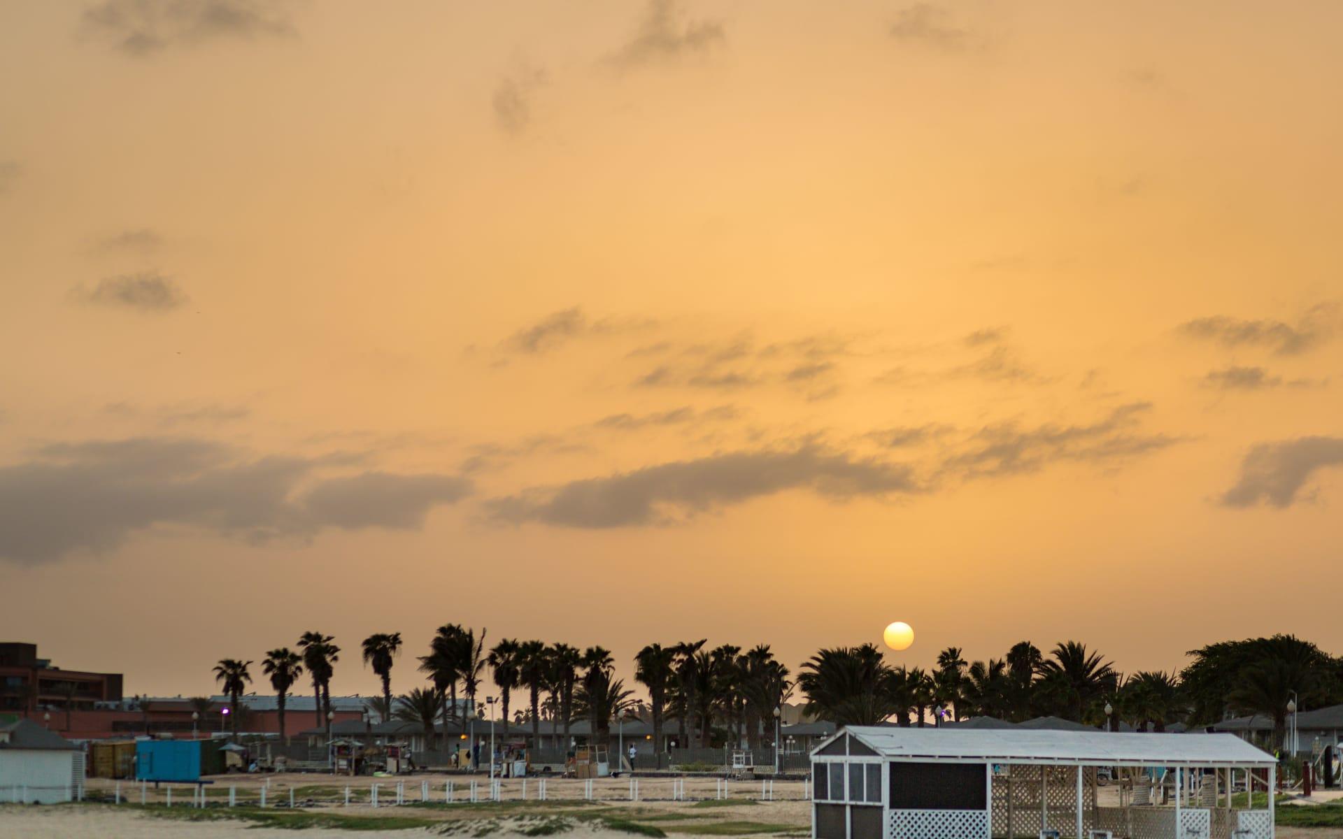 Badeferien im Odjo d'Agua ab Santa Maria: Santa Maria__Sunset_