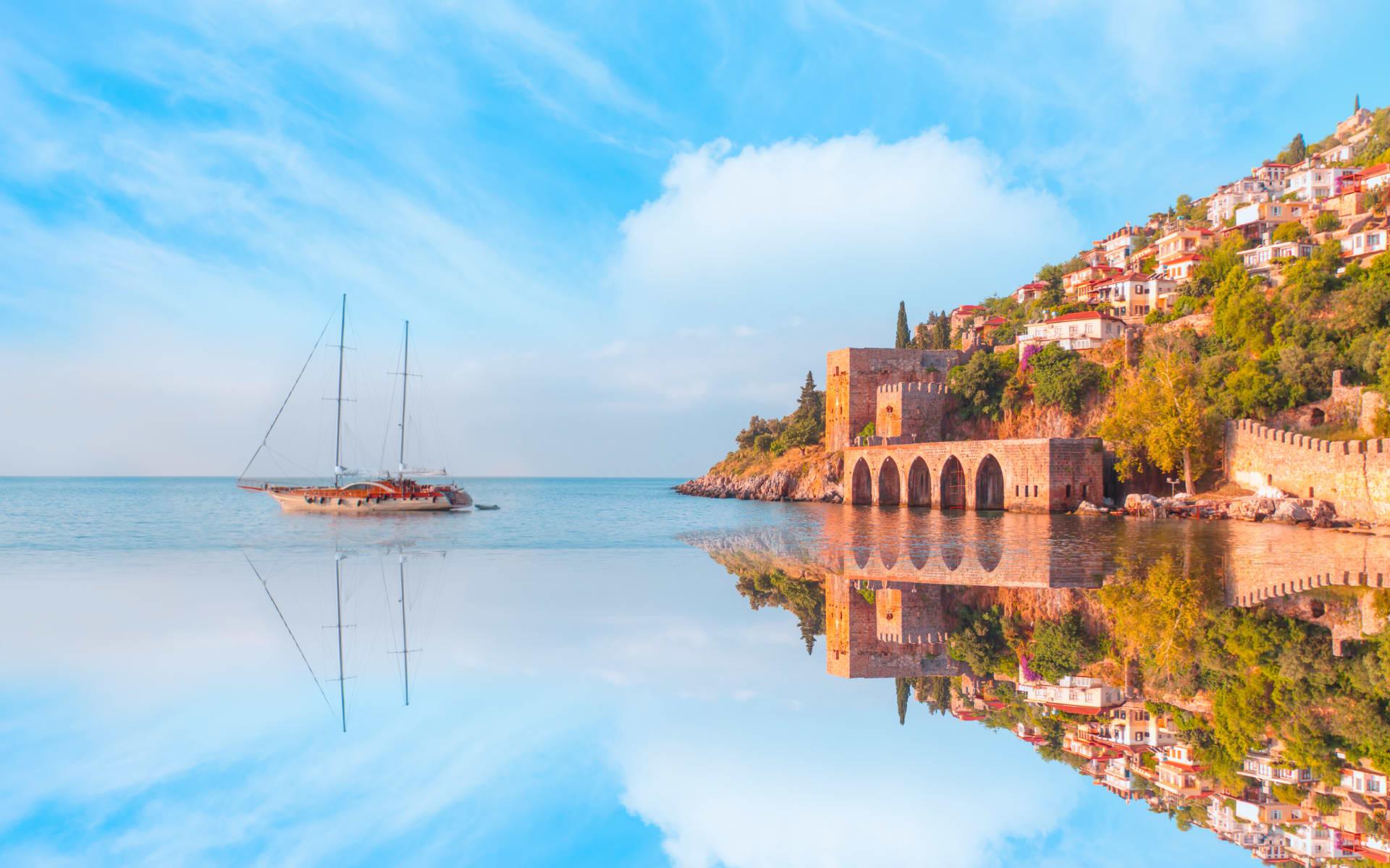Badeferien im Maxx Royal ab Belek: Schiff_Türkei