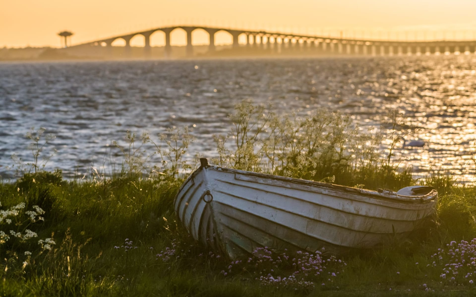 Hotel Skansen in Öland: Schweden Oland Brücke