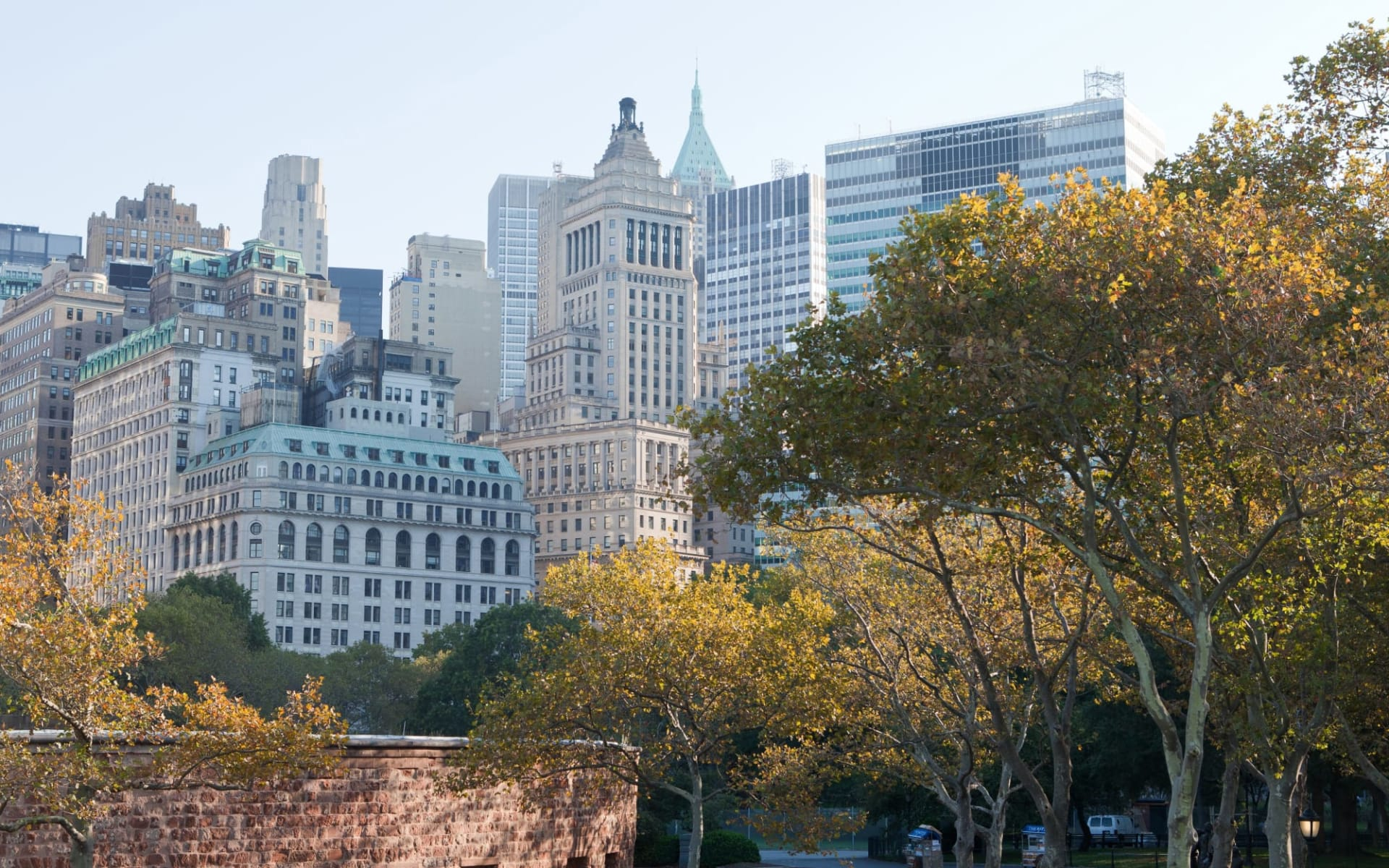 The Wagner at the Battery in New York - Manhattan: shutterstock_118050154_nyc3