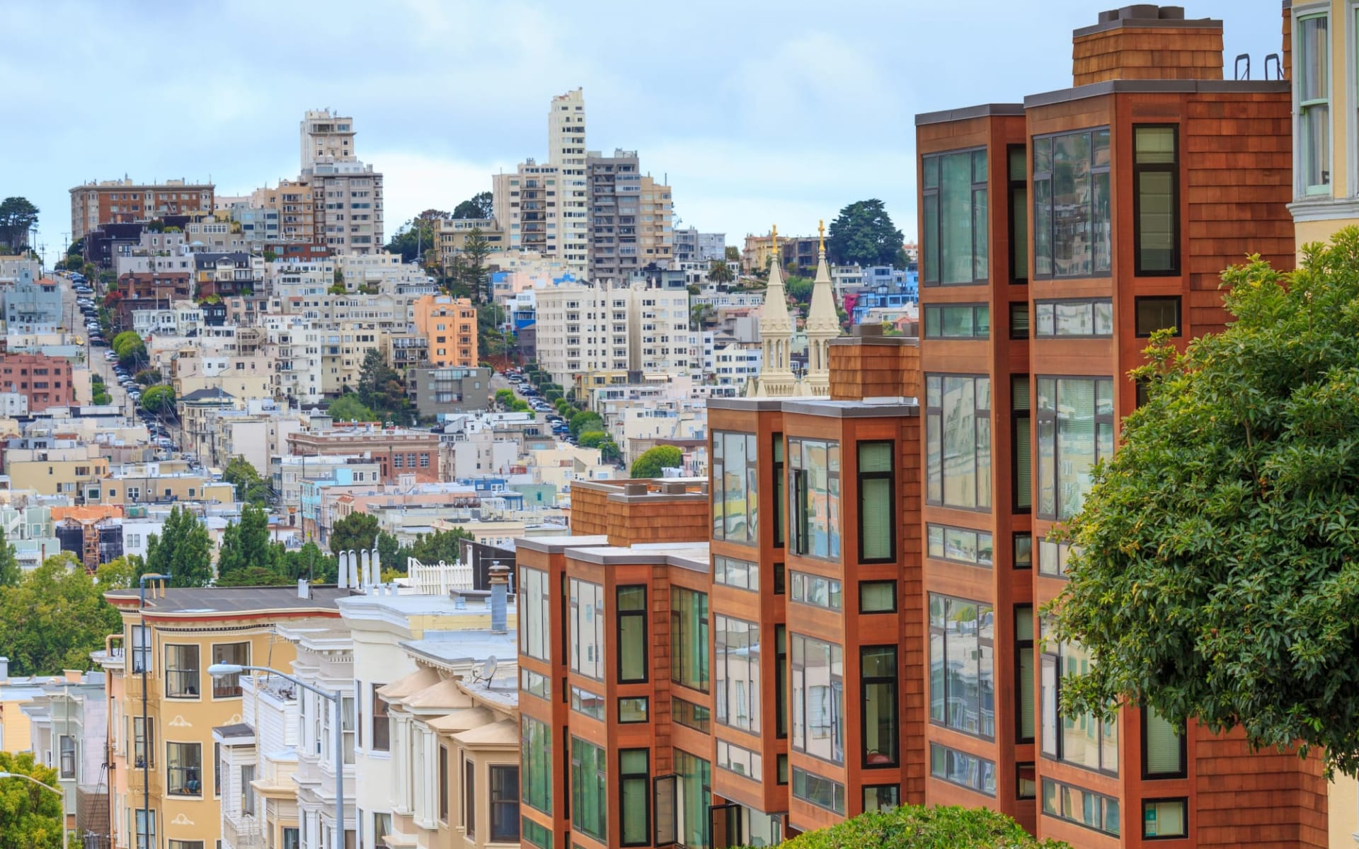 Sir Francis Drake Hotel in San Francisco: shutterstock_154884305_sanfran4