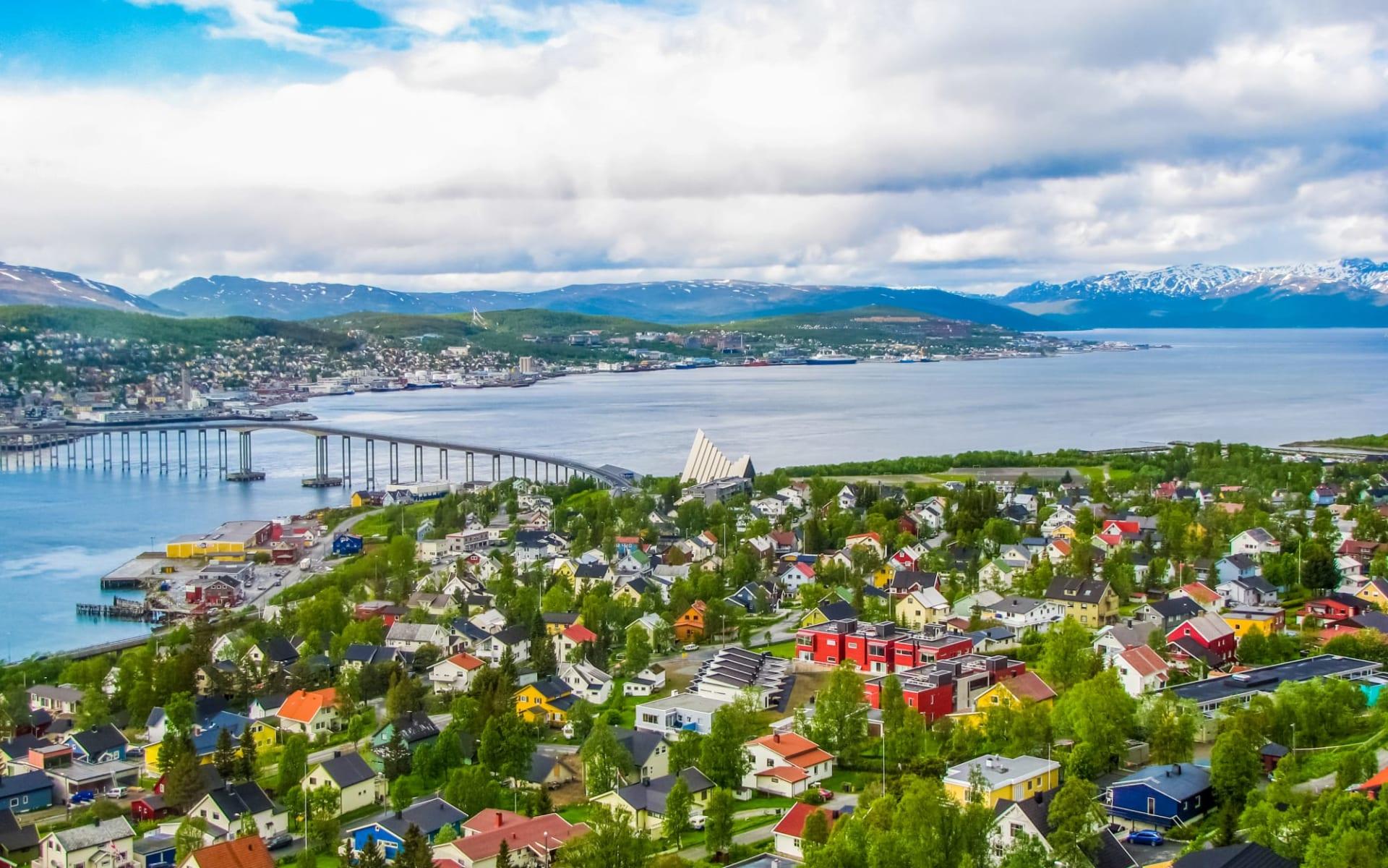 Scandic Ishavshotel in Tromsö: Sommeransicht von Tromso, Norwegen