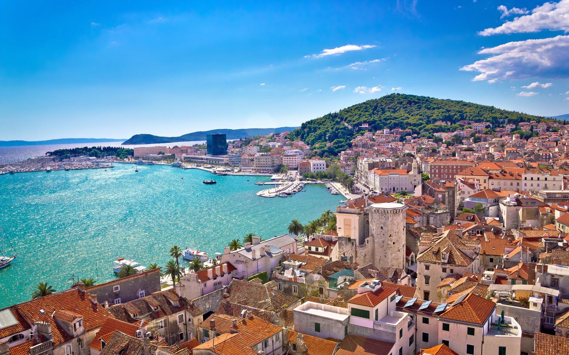 Badeferien im Radisson Blu Resort & Spa Split: Split_Hafen_