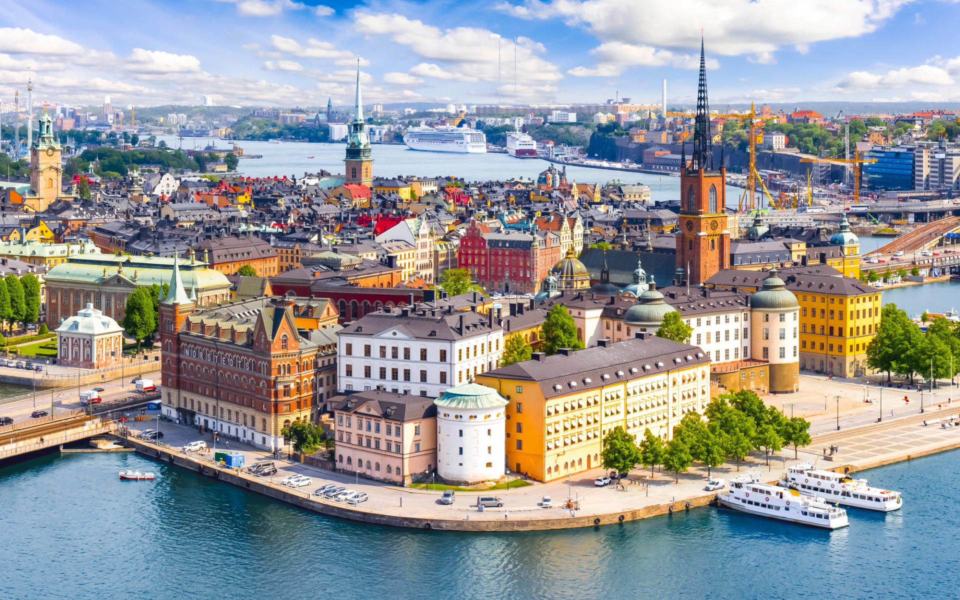 Comfort Xpress in Stockholm: Stockholmer Altstadt (Gamla Stan)