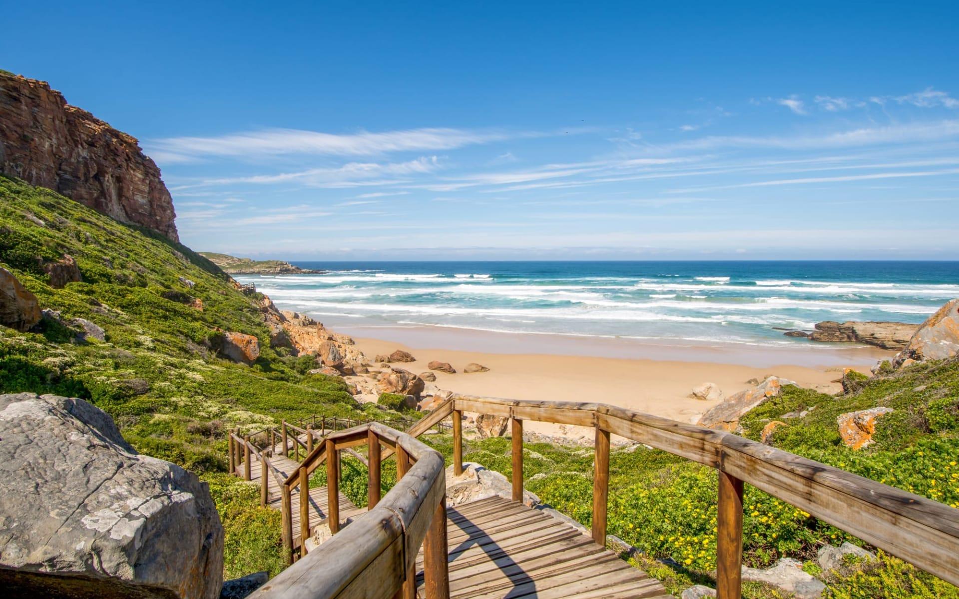 Südafrika Klassiker Privatreise ab Johannesburg: Südafrika - Plettenberg Bay - Robberg Beach