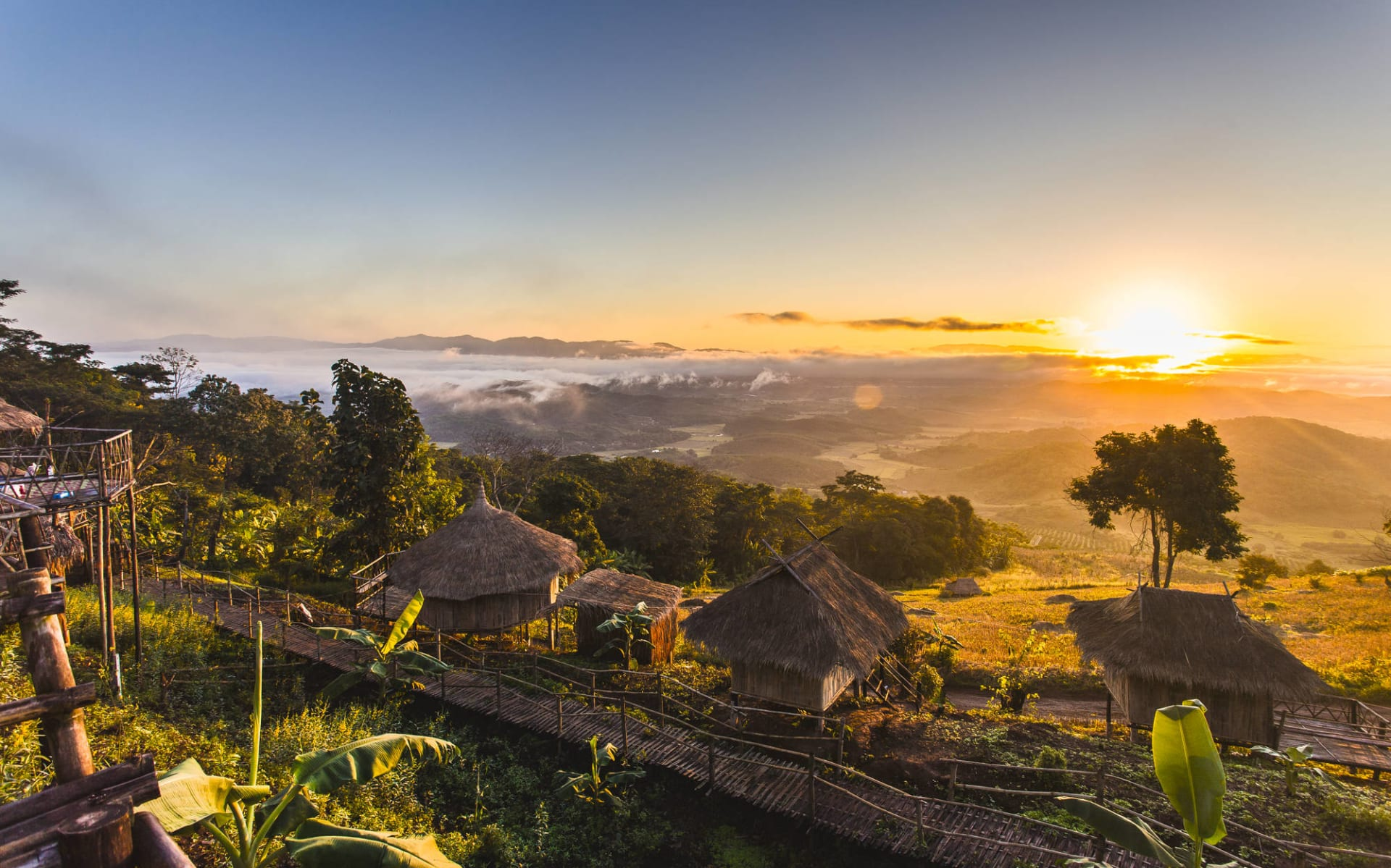 Das Goldene Dreieck ab Chiang Mai: Sunrise at Golden Triangle