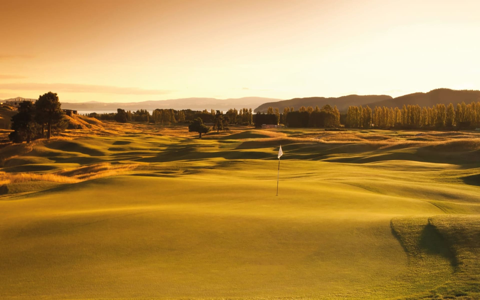 Golfsafari ab Auckland: Taupo - Kinloch Club Taupo Golfplatz