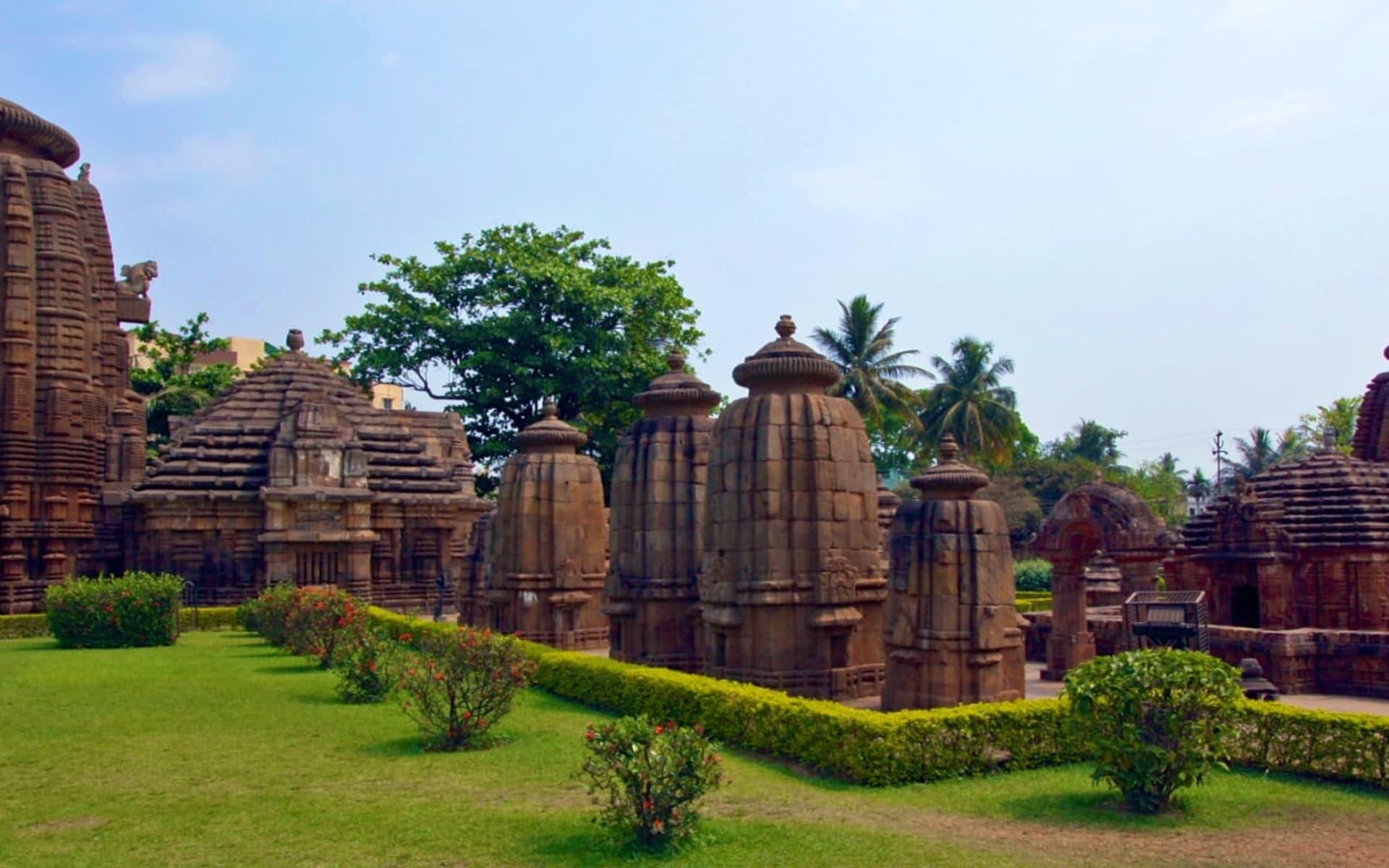 Die Tempel von Odisha ab Bhubaneswar: Temples Bhubaneswar