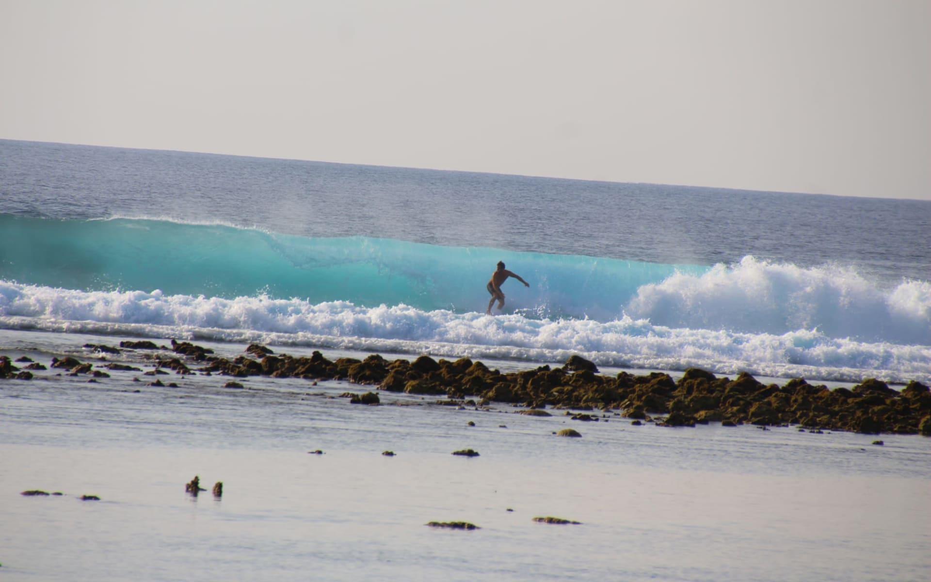 Surfen auf perfekten Wellen / Horizon II ab Malé: Thulusdhoo