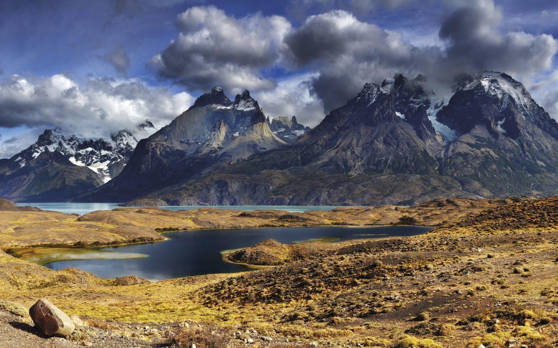 Ruta 40: Trelew - El Calafate mit Torres del Paine: Torres del Paine