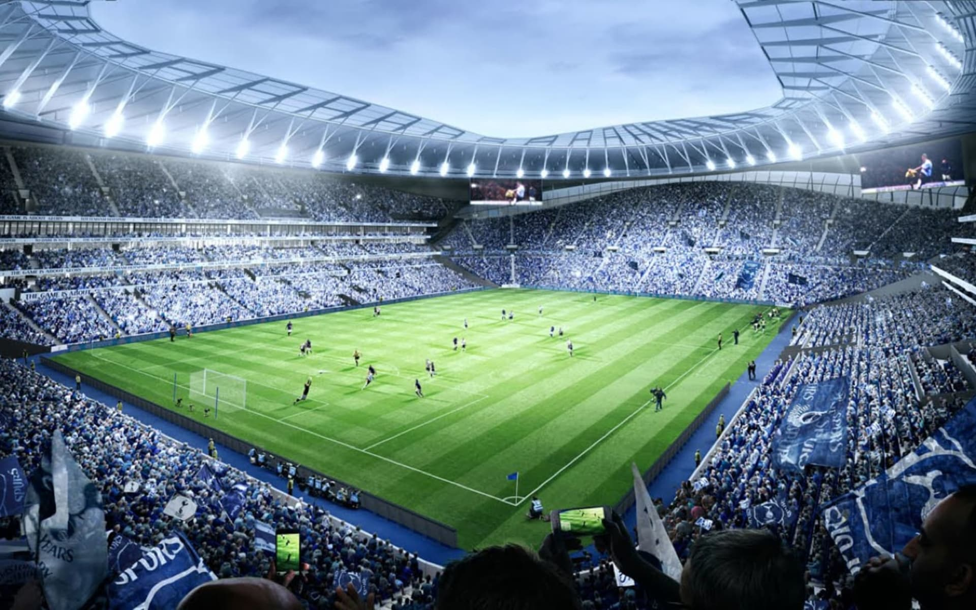 Tottenham Hotspurs ab London: tottenham_stadion