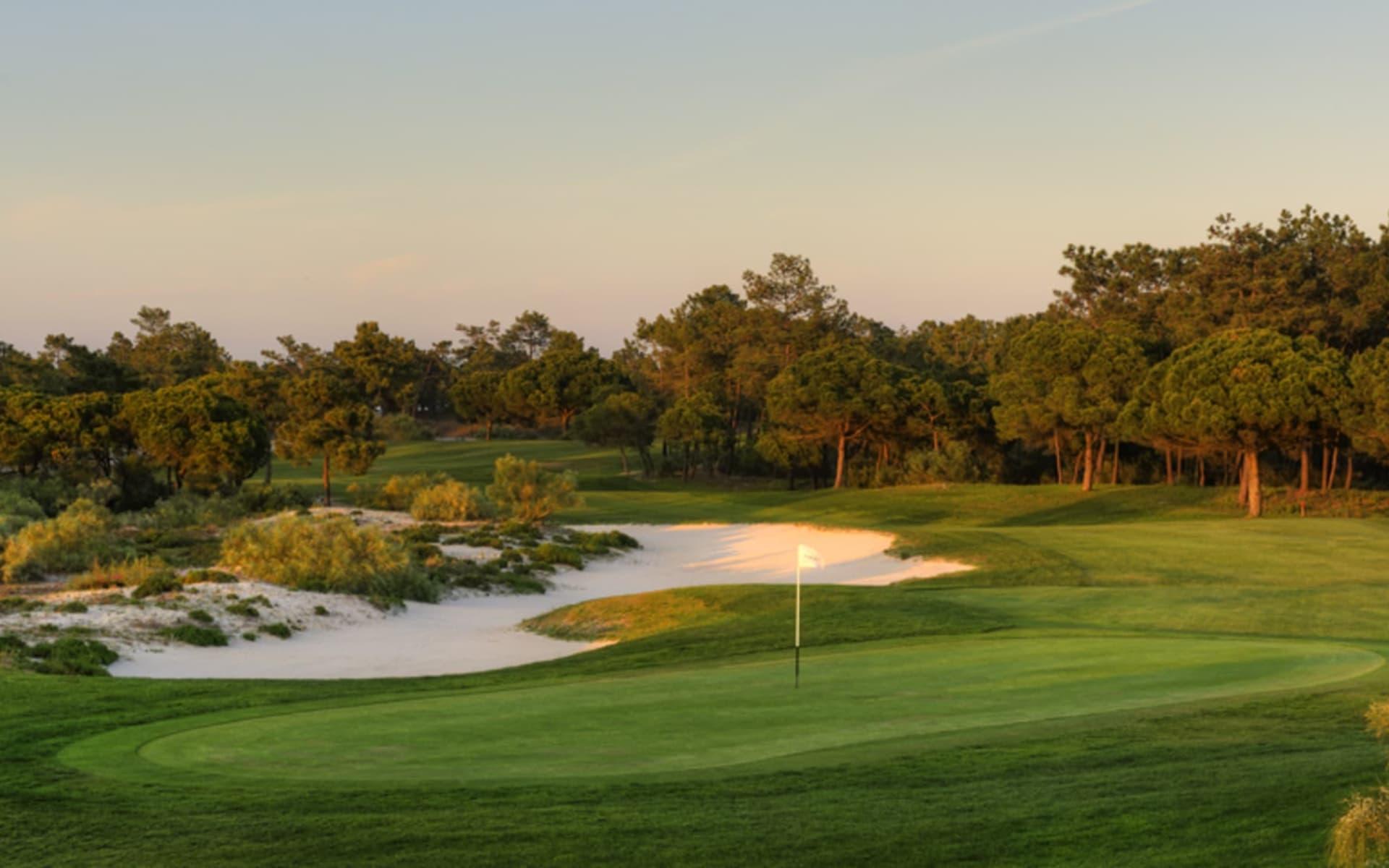 Troia Golf Resort in Lissabon: Troia Golf 14.Hole