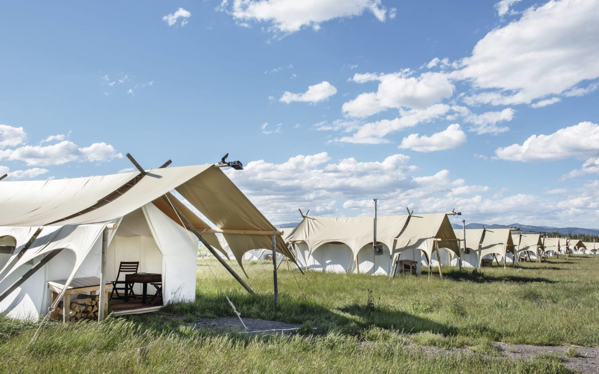 Under Canvas Yellowstone in West Yellowstone: Under Canvas Yellowstone - Overview
