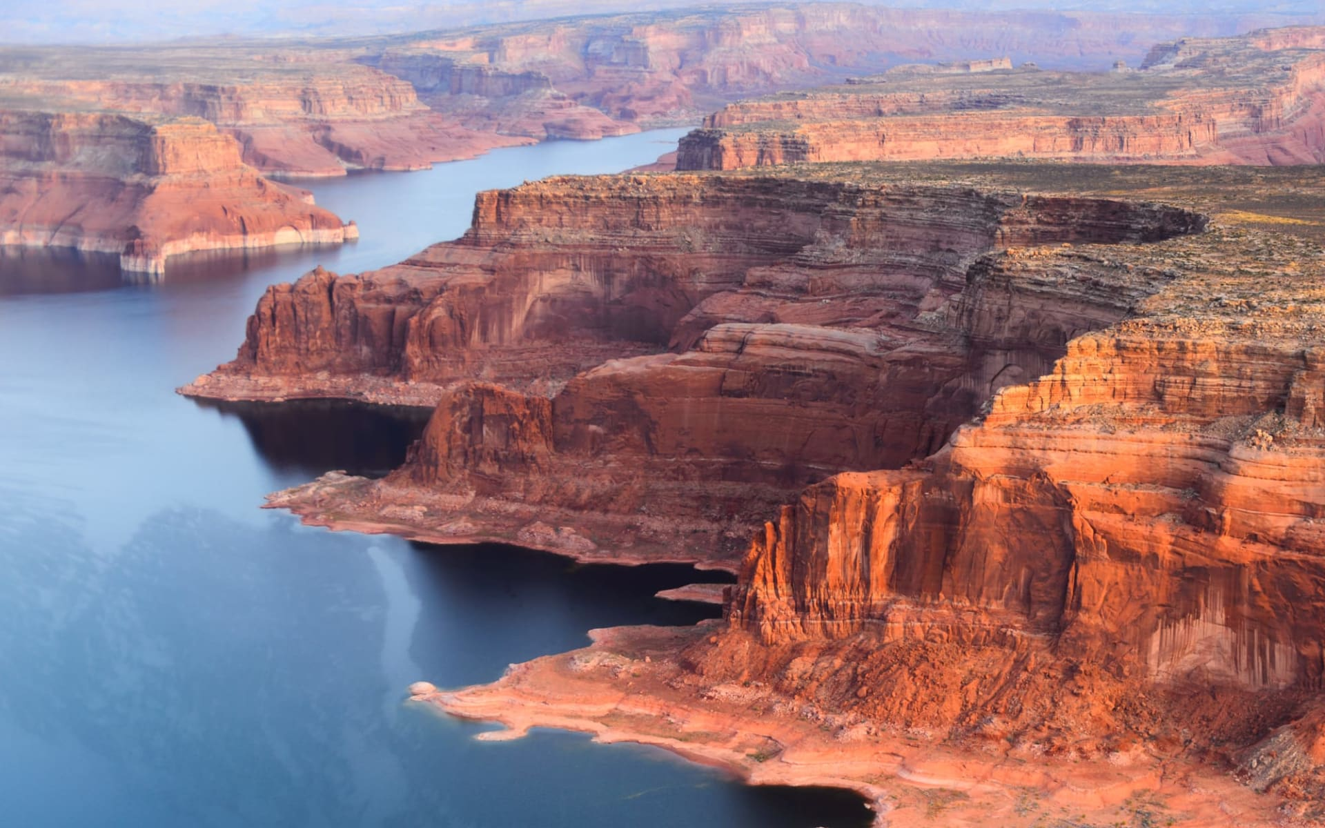 The Great West ab Los Angeles: USA - Arizona - Grand Canyon NP Vogelperspektive